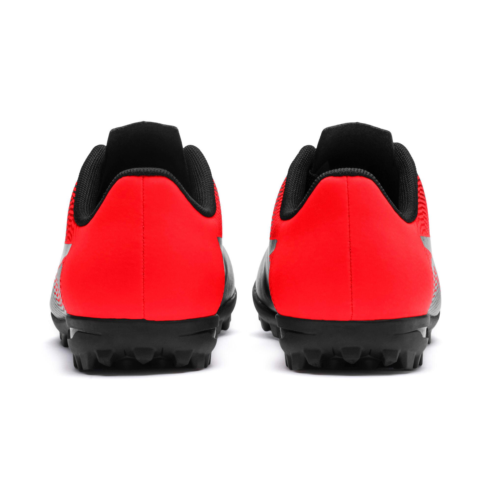 Miniatura 4 de Zapatos de fútbolPUMA Spirit II TT para JR, Puma Black-Red Blast, mediano