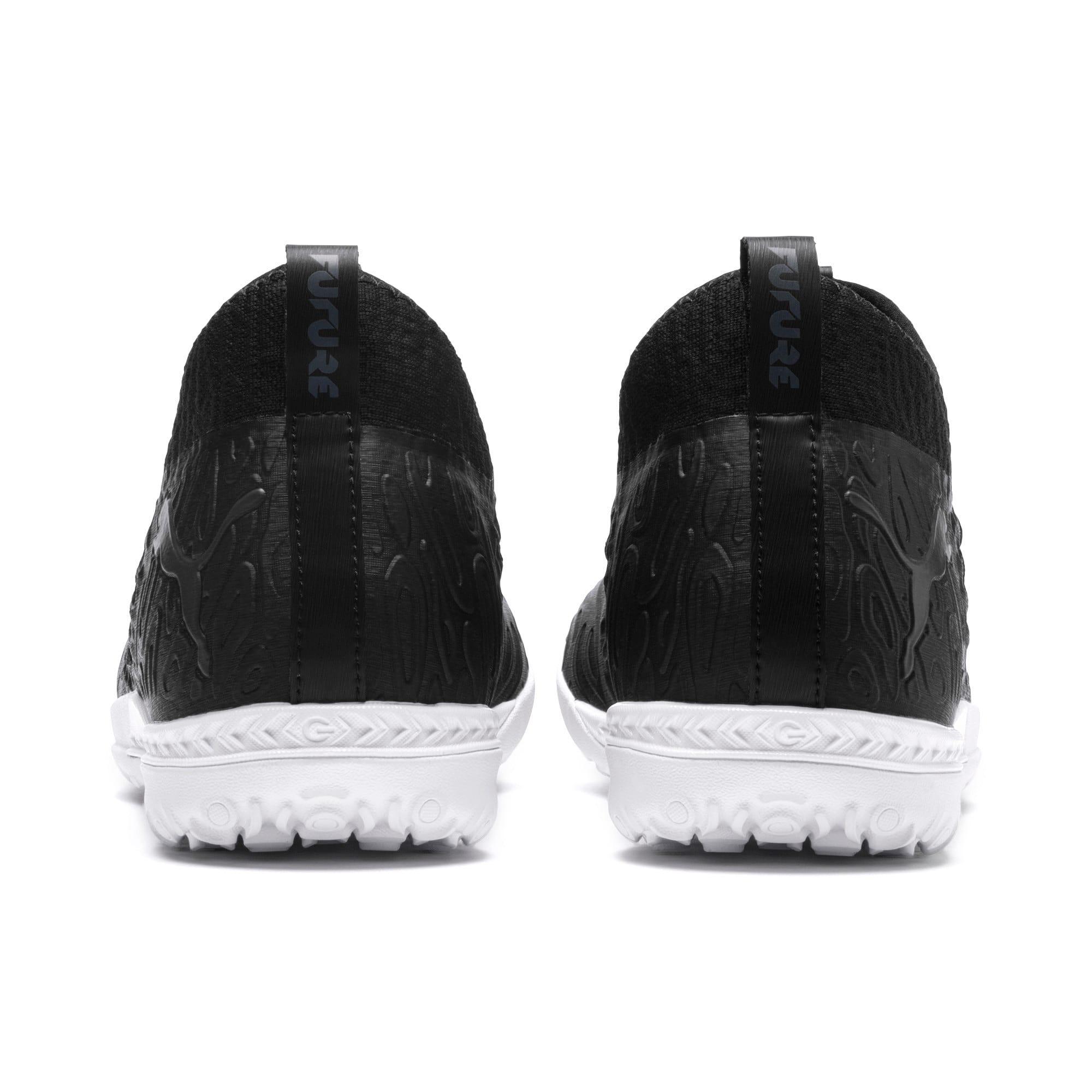Thumbnail 4 of FUTURE 19.3 NETFIT TT Men's Soccer Shoes, Puma Black-Puma Black-White, medium