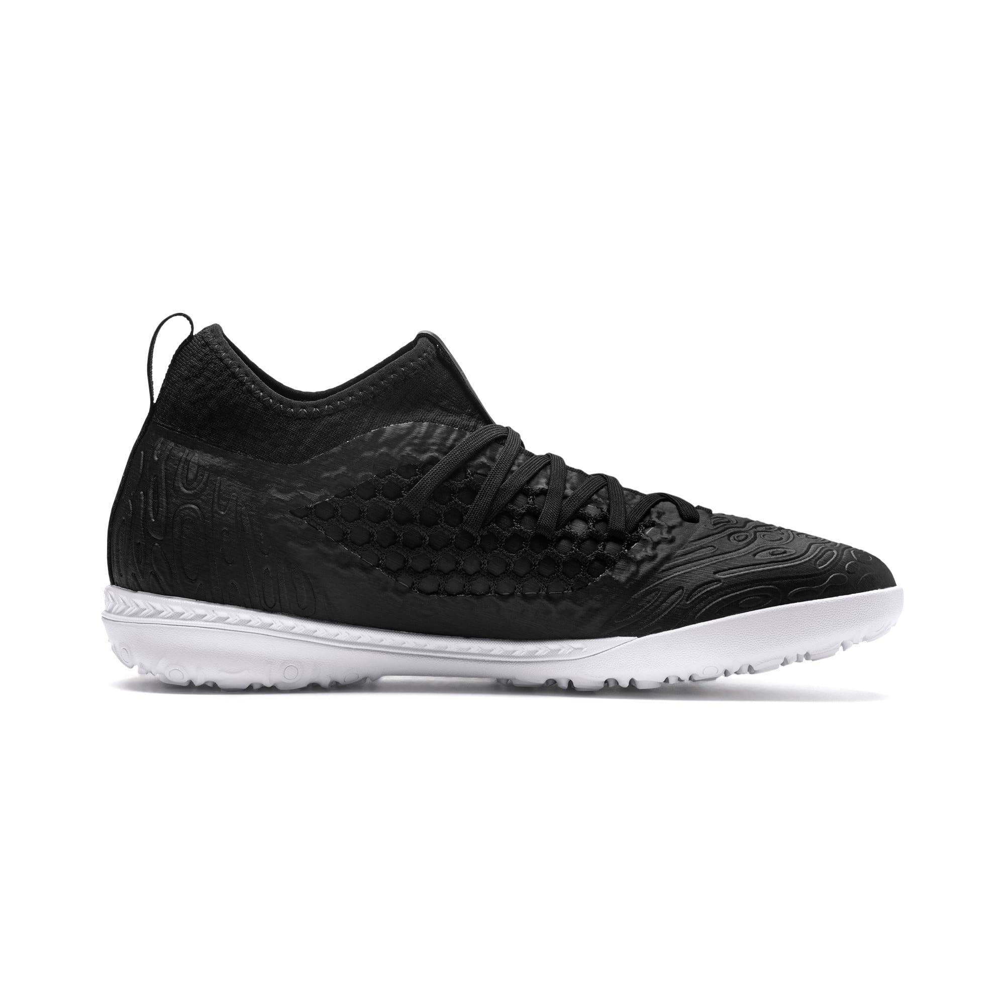 Thumbnail 5 of FUTURE 19.3 NETFIT TT Men's Soccer Shoes, Puma Black-Puma Black-White, medium