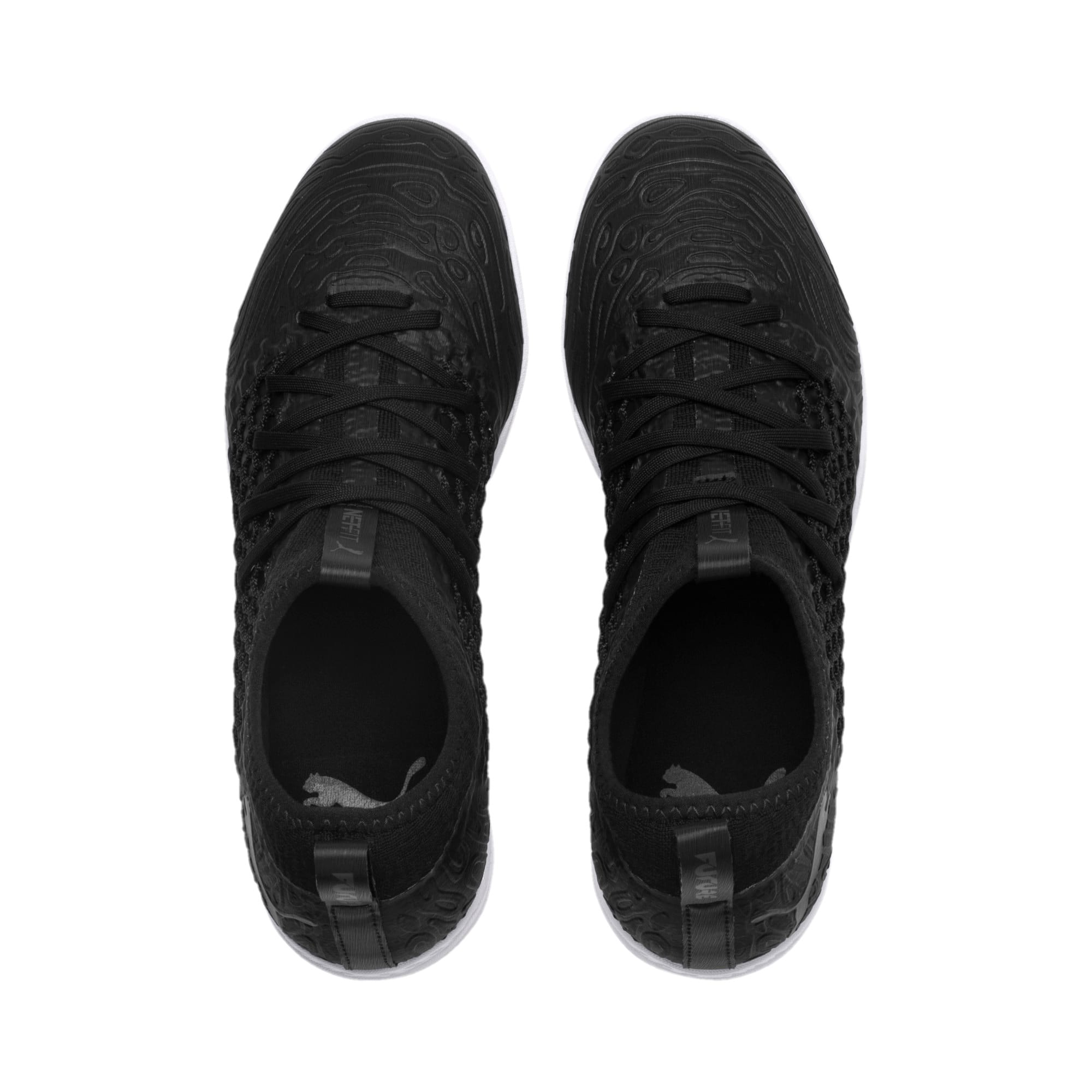 Thumbnail 6 of FUTURE 19.3 NETFIT TT Men's Soccer Shoes, Puma Black-Puma Black-White, medium