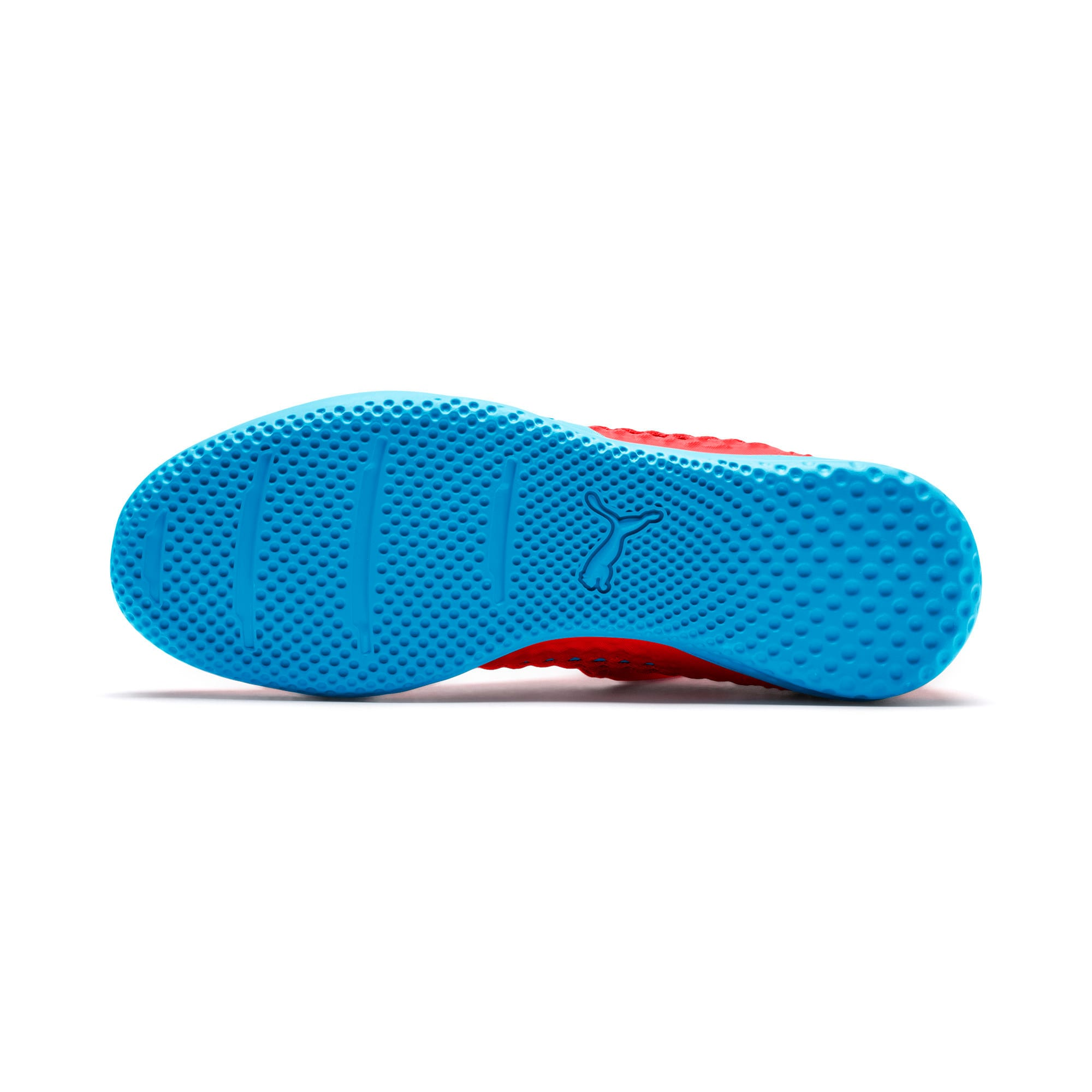 Thumbnail 3 of FUTURE 19.3 NETFIT IT Men's Soccer Shoes, Red Blast-Bleu Azur, medium