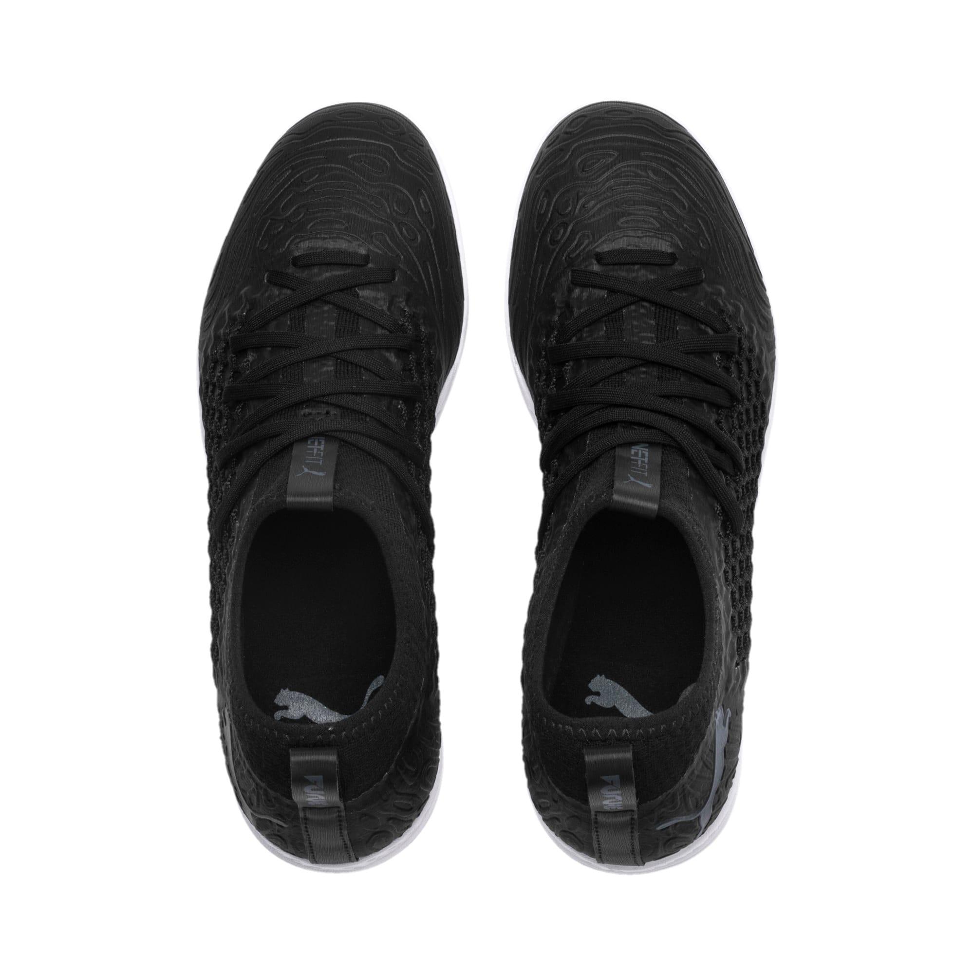 Thumbnail 6 of FUTURE 19.3 NETFIT IT Men's Soccer Shoes, Puma Black-Puma Black-White, medium