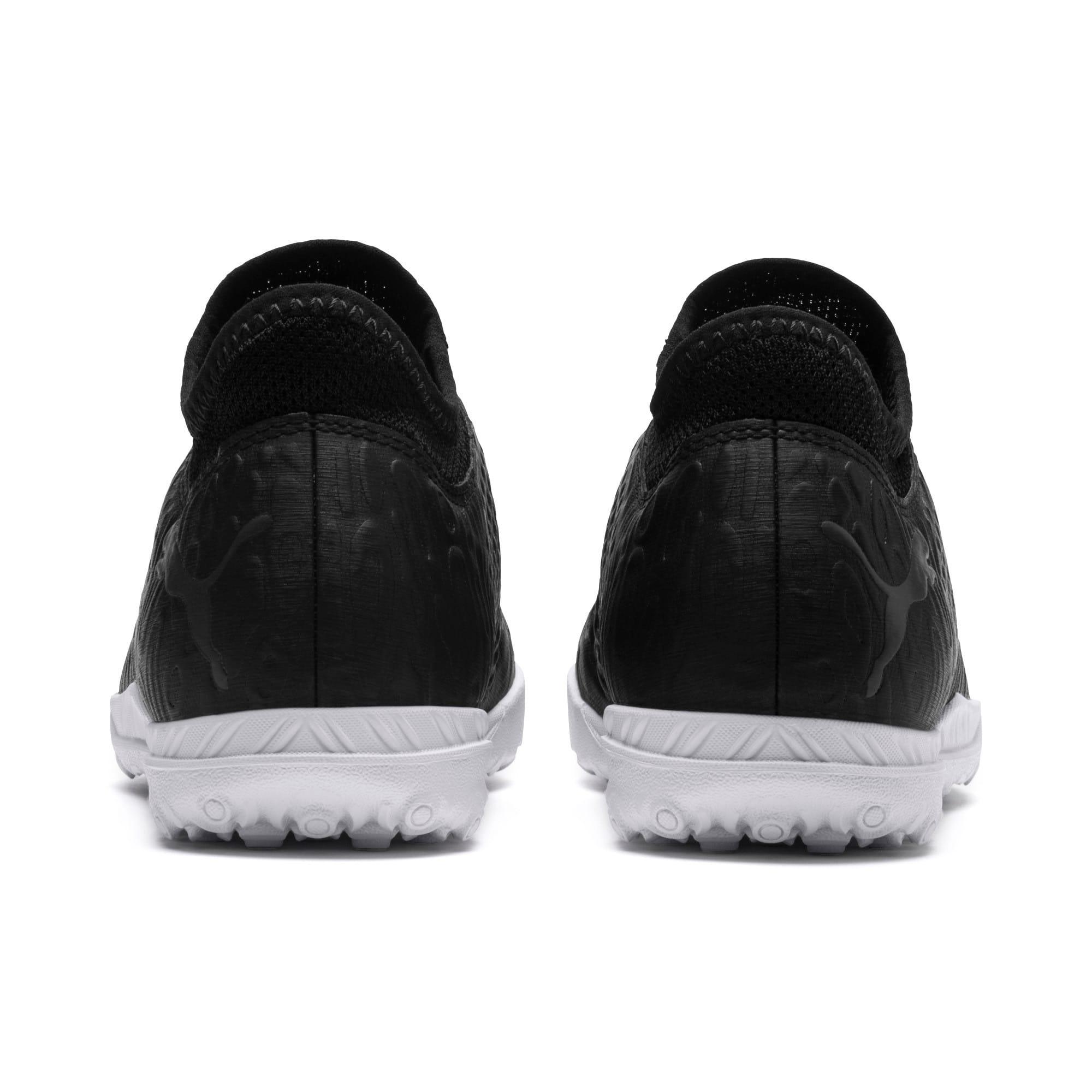 Thumbnail 4 of FUTURE 19.4 TT Soccer Shoes JR, Puma Black-Puma Black-White, medium