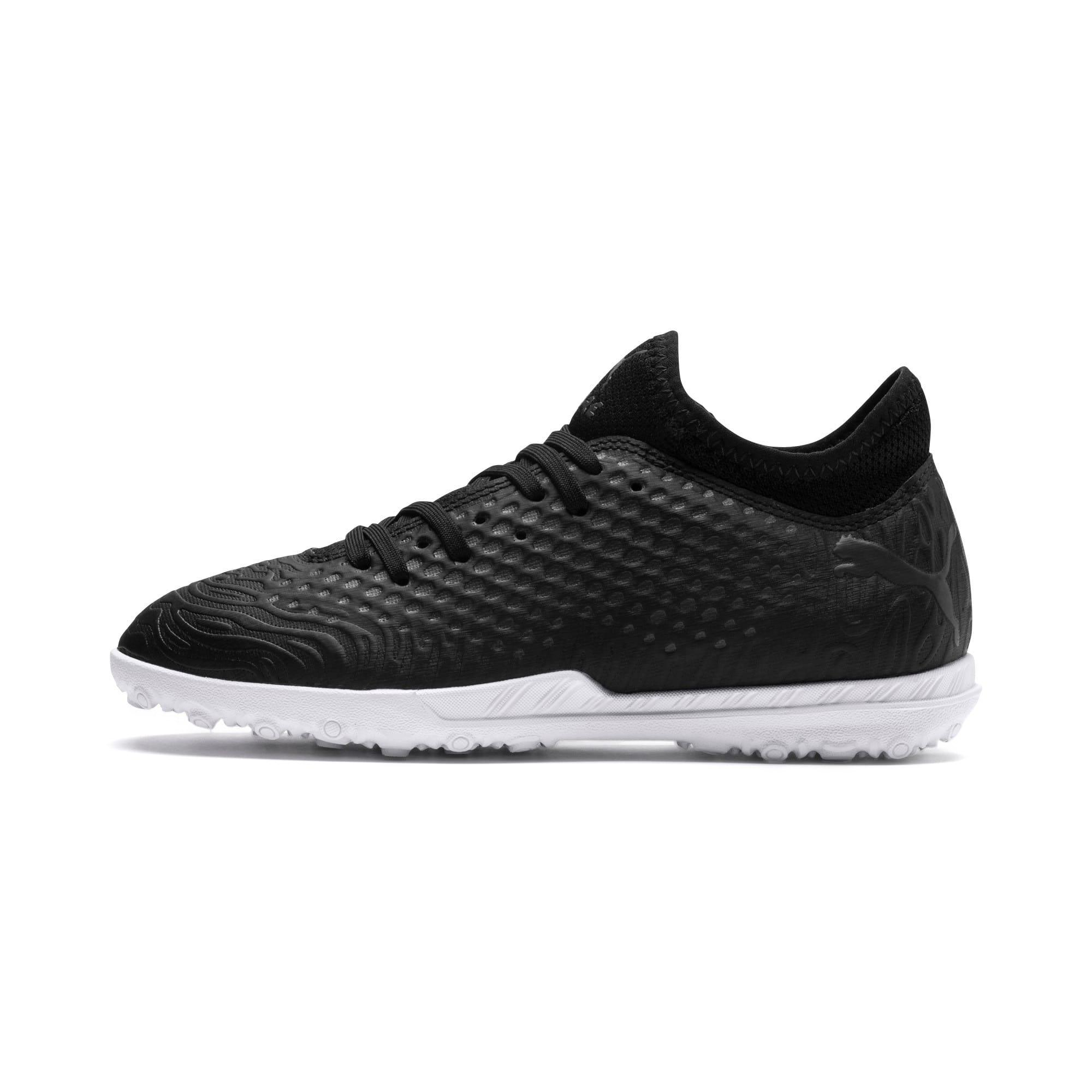Thumbnail 1 of FUTURE 19.4 TT Soccer Shoes JR, Puma Black-Puma Black-White, medium