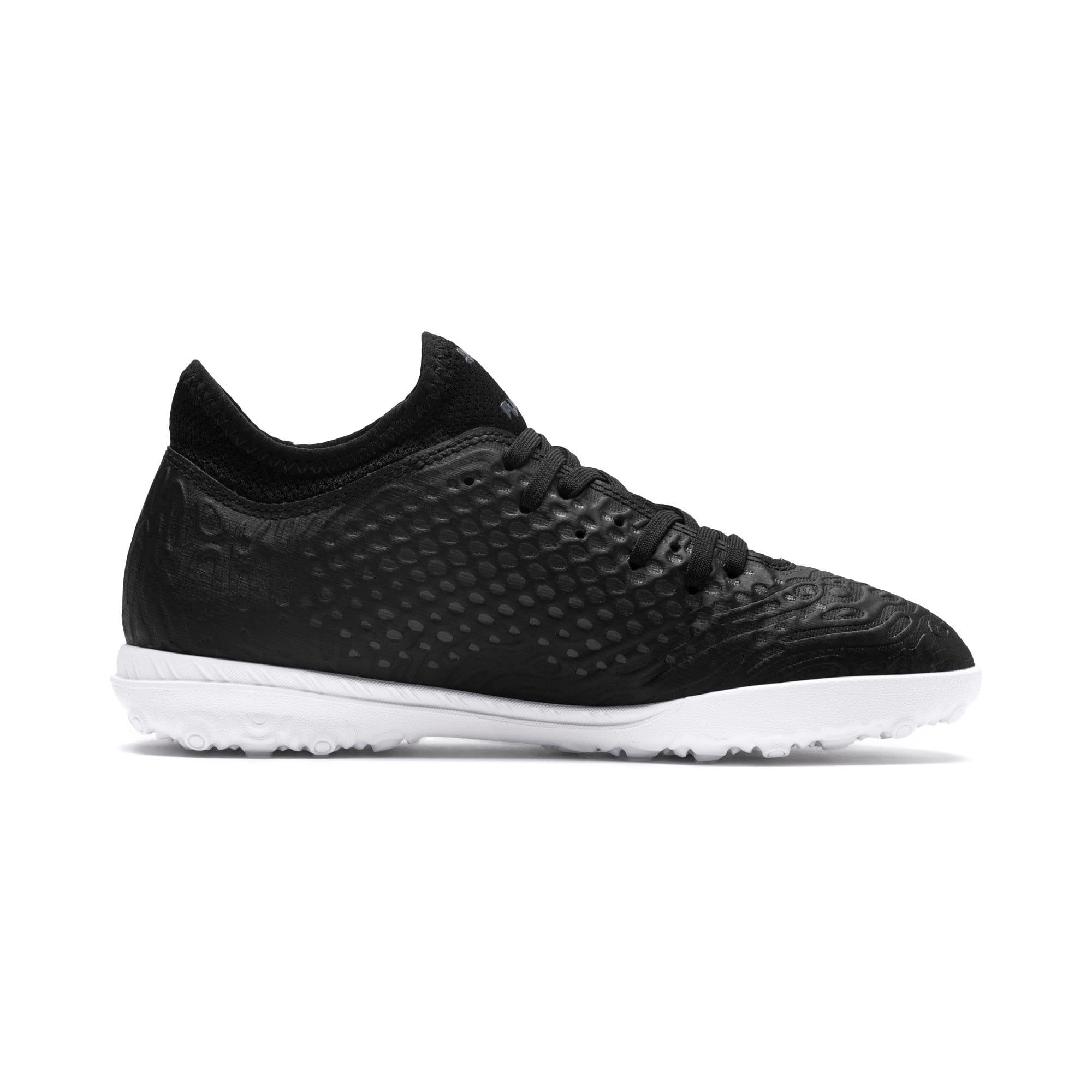 Thumbnail 5 of FUTURE 19.4 TT Soccer Shoes JR, Puma Black-Puma Black-White, medium