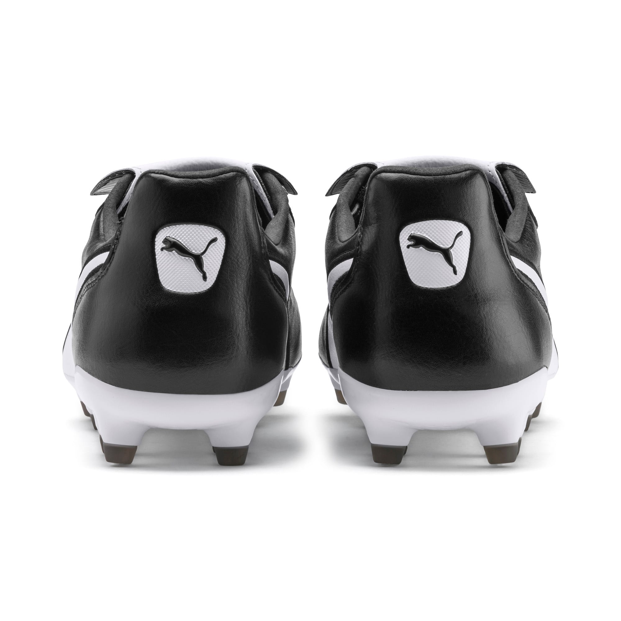 King Top FG Soccer Cleats, Puma Black-Puma White, large