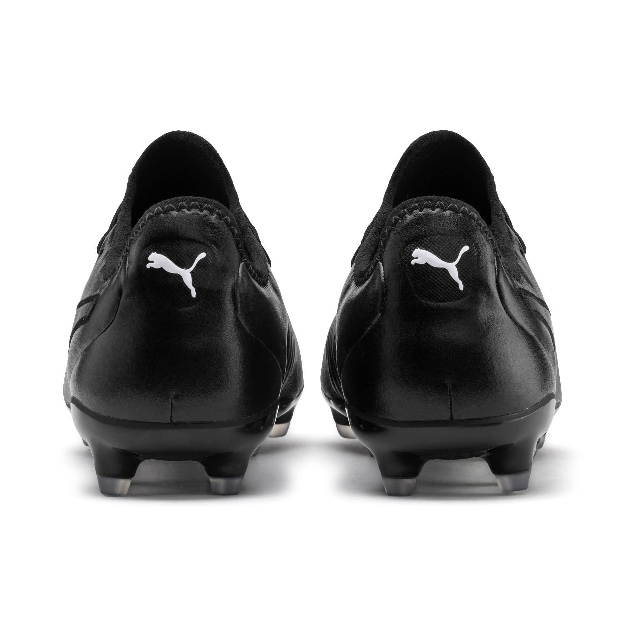 Thumbnail 4 of KING Pro FG Football Boots, Puma Black-Puma White, medium