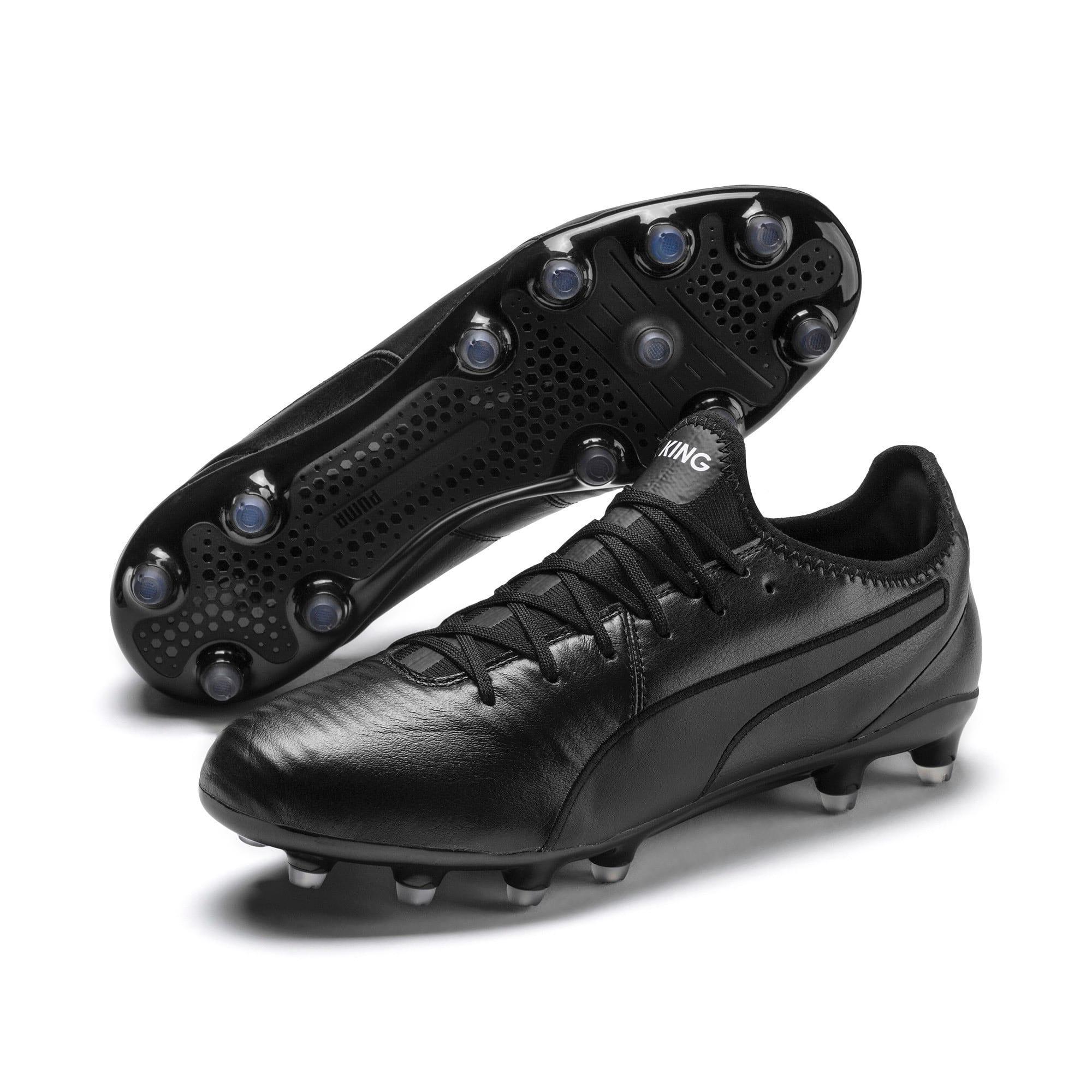 Thumbnail 3 of King Pro FG Soccer Cleats, Puma Black-Puma White, medium