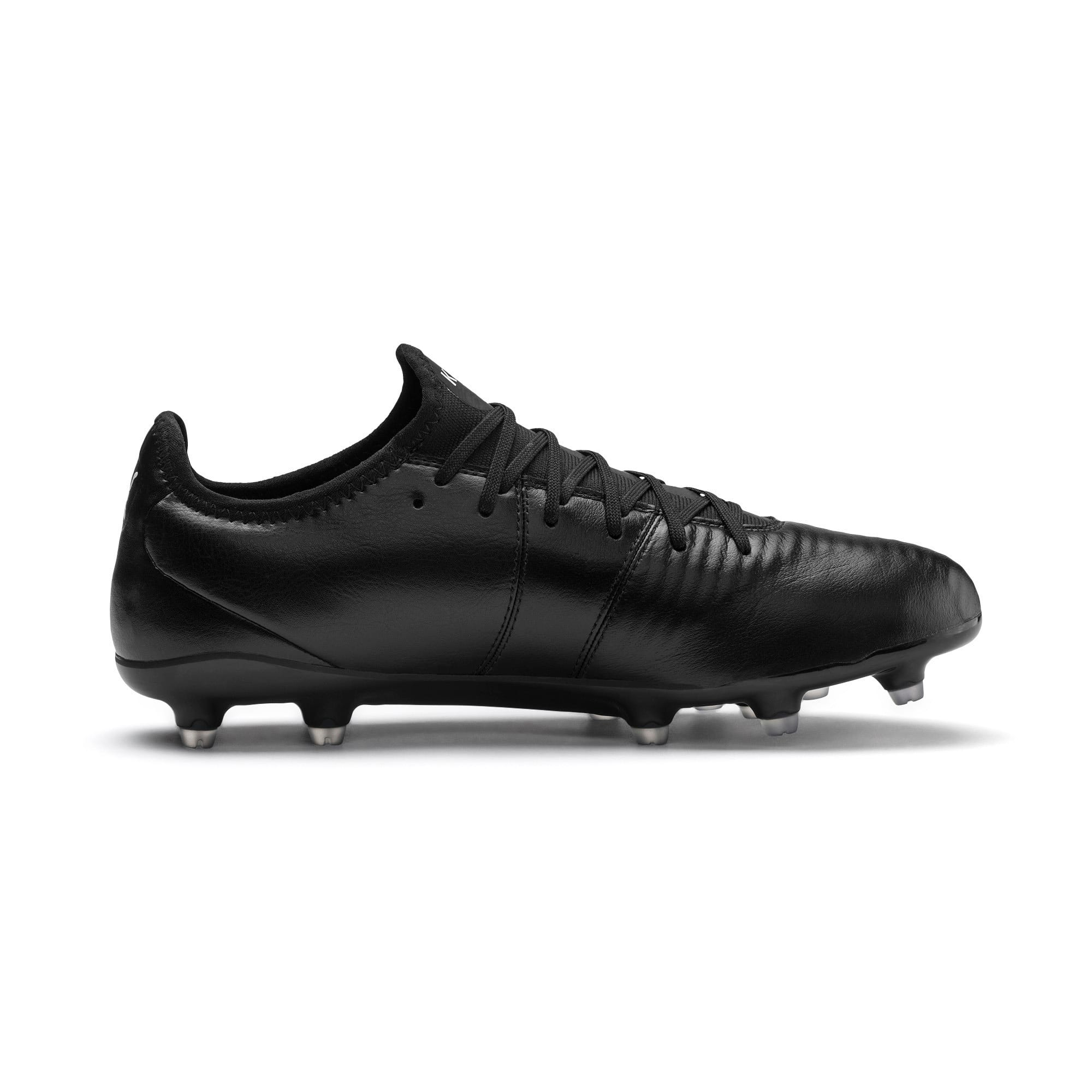 Thumbnail 6 of King Pro FG Soccer Cleats, Puma Black-Puma White, medium