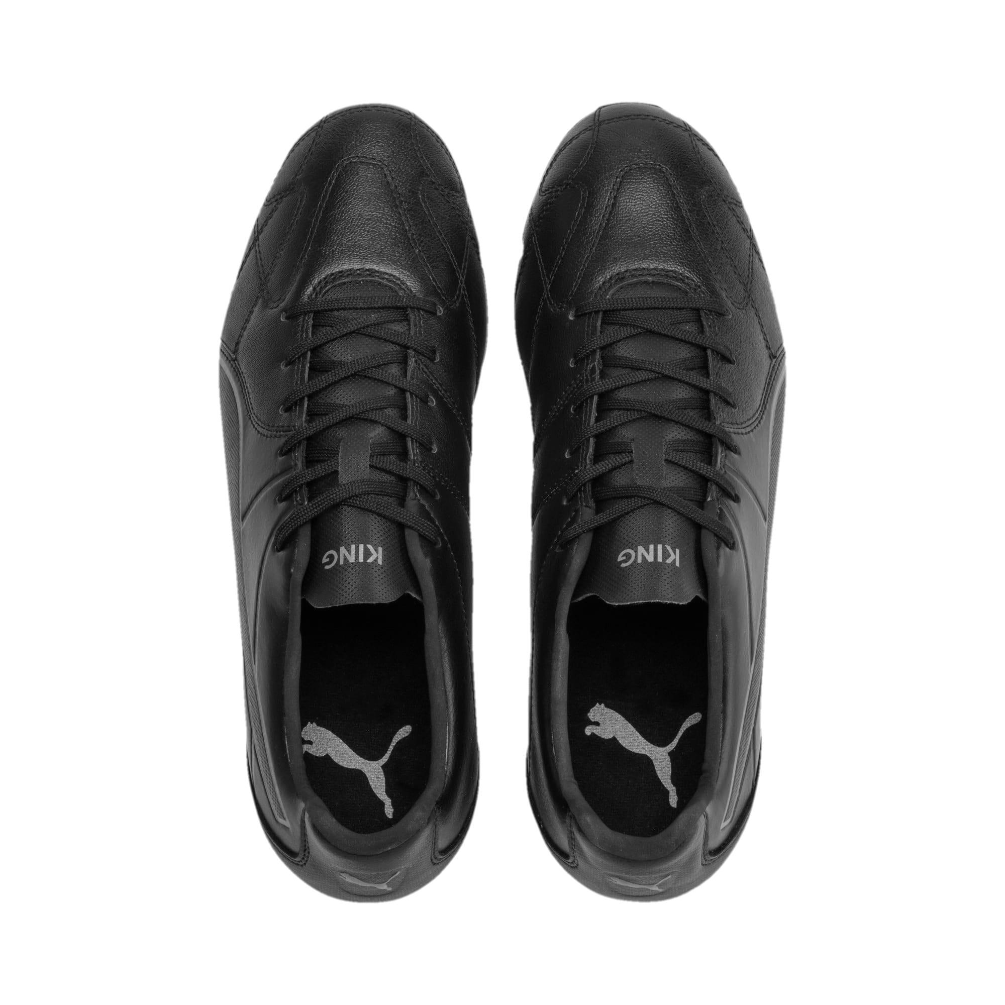 Thumbnail 6 of KING Hero H8 Men's Rugby Boots, Puma Black-Puma Aged Silver, medium