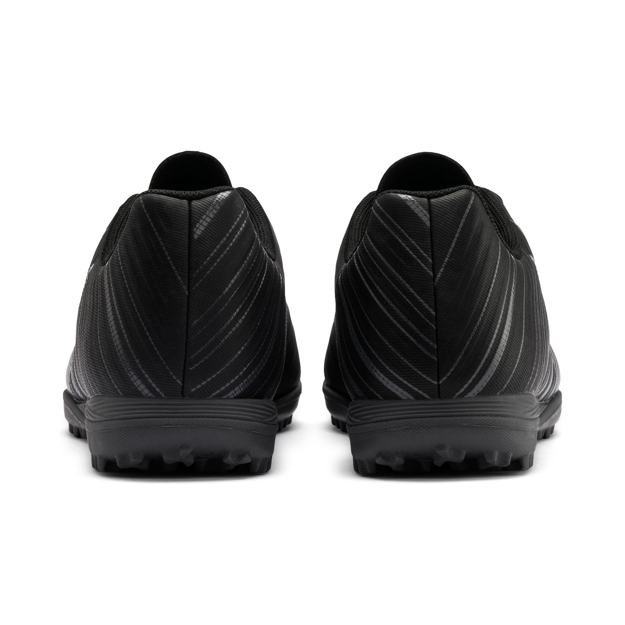 Thumbnail 4 of PUMA ONE 5.4 TT Men's Soccer Shoes, Black-Black-Puma Aged Silver, medium