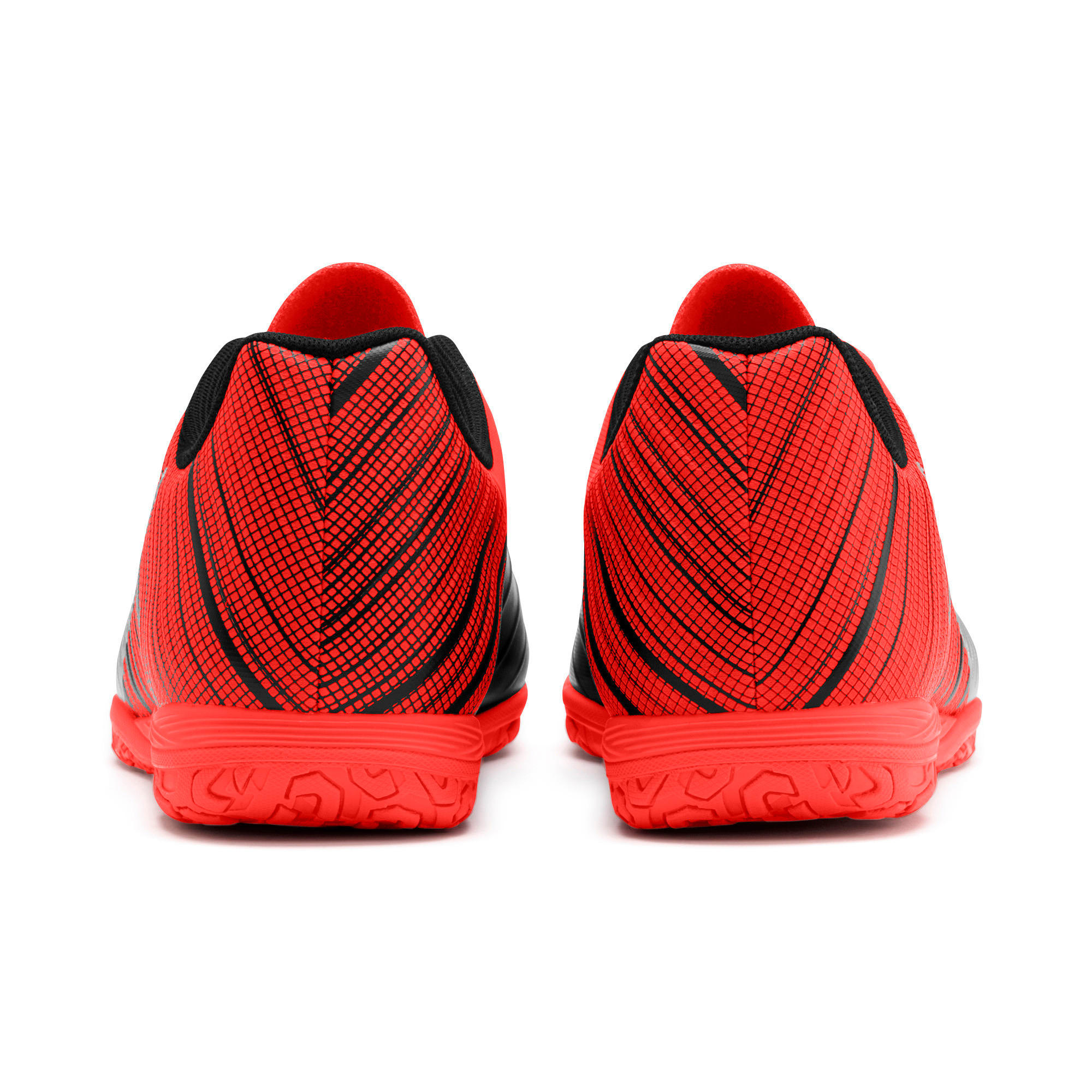 Thumbnail 4 of PUMA ONE 5.4 IT Men's Soccer Shoes, Black-Nrgy Red-Aged Silver, medium