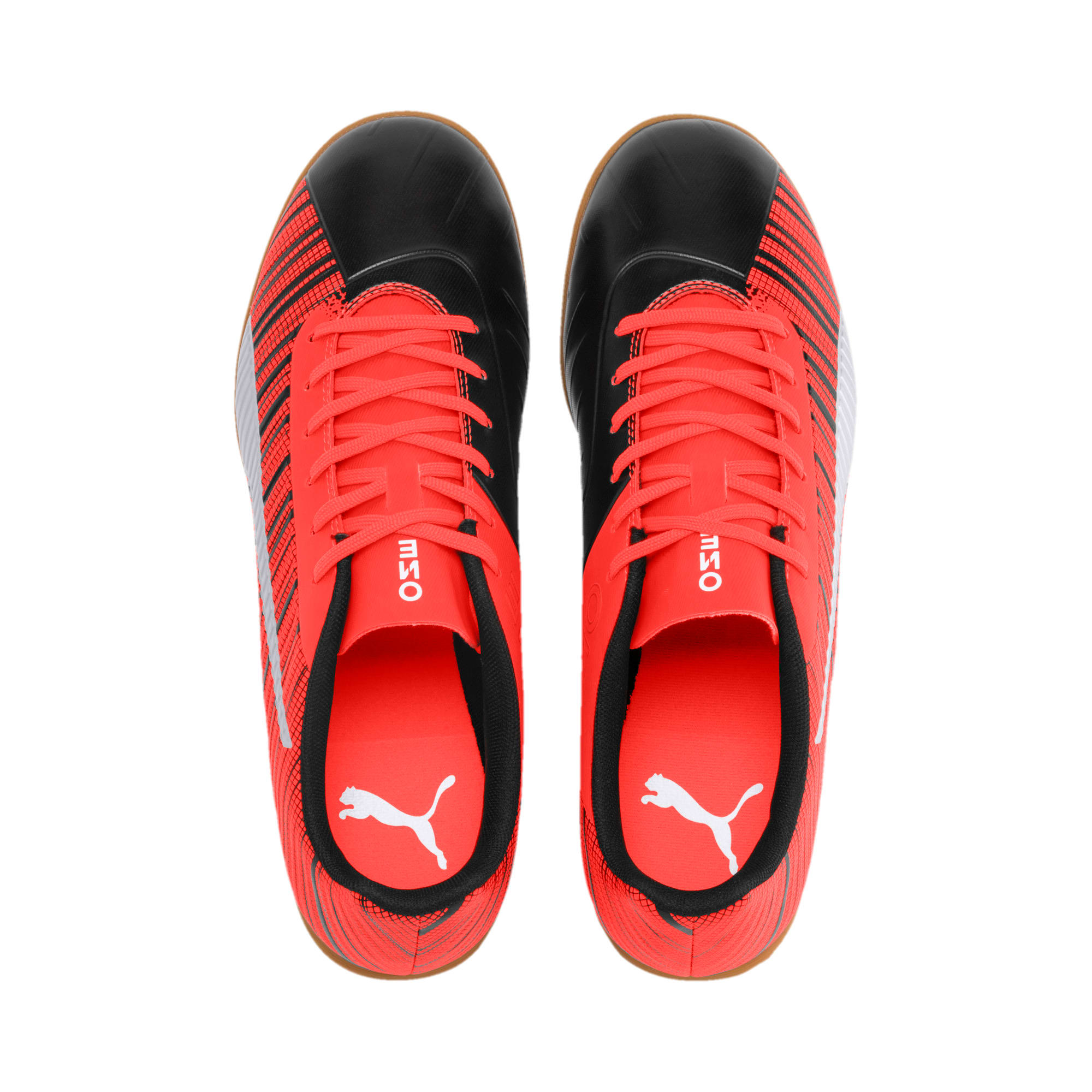 Thumbnail 7 of PUMA ONE 5.4 IT Men's Soccer Shoes, Black-Red-Silver-Gum, medium