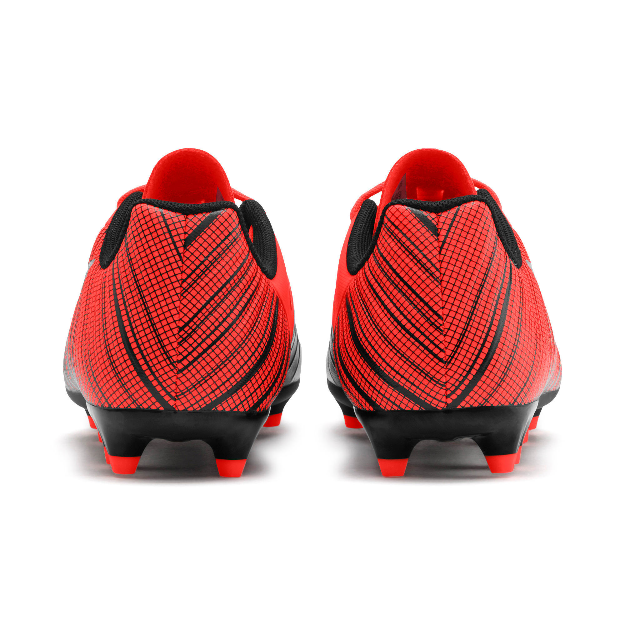 Thumbnail 3 of PUMA ONE 5.4 IT Youth Football Boots, Black-Nrgy Red-Aged Silver, medium-IND
