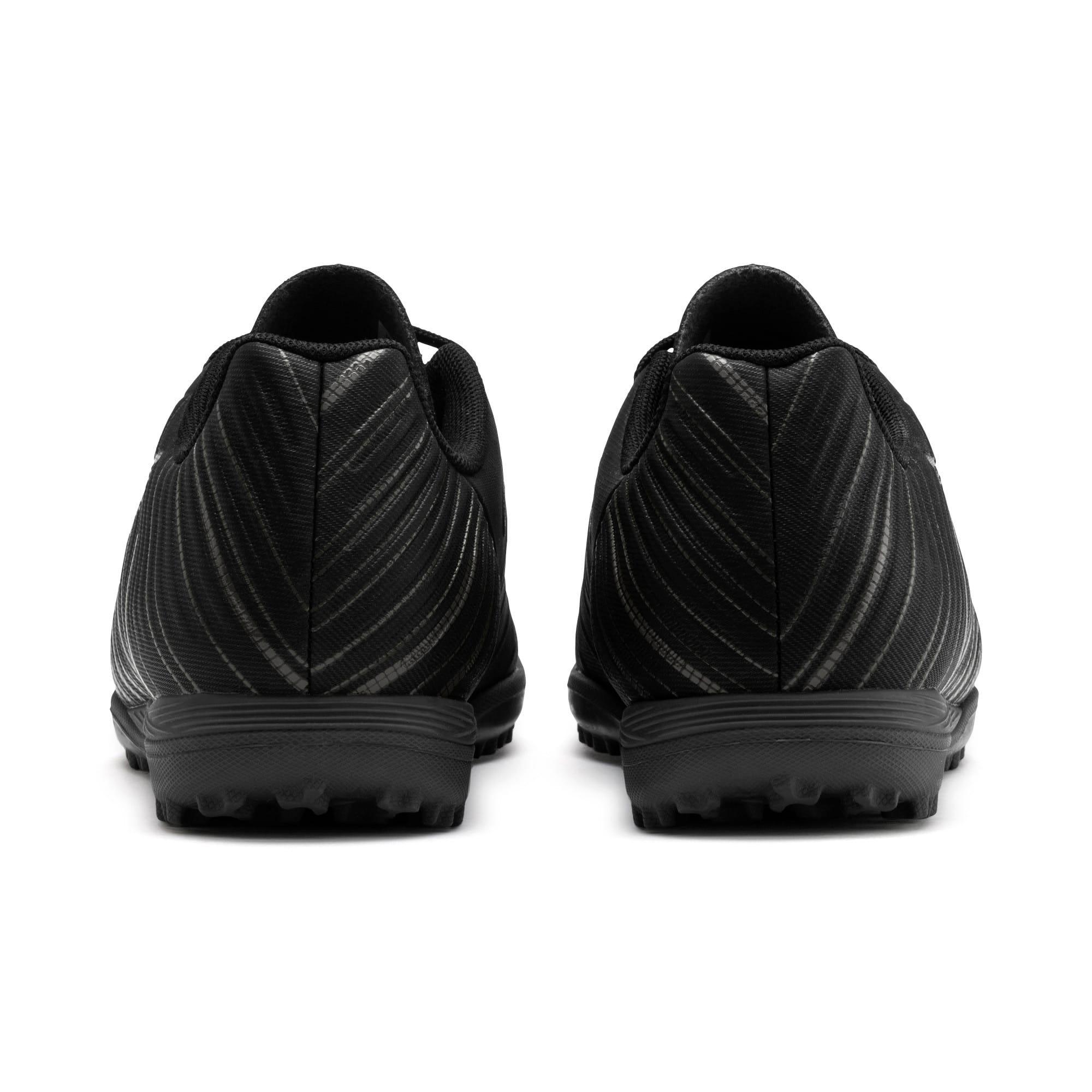 Thumbnail 3 of PUMA ONE 5.4 TT Soccer Shoes JR, Black-Black-Puma Aged Silver, medium