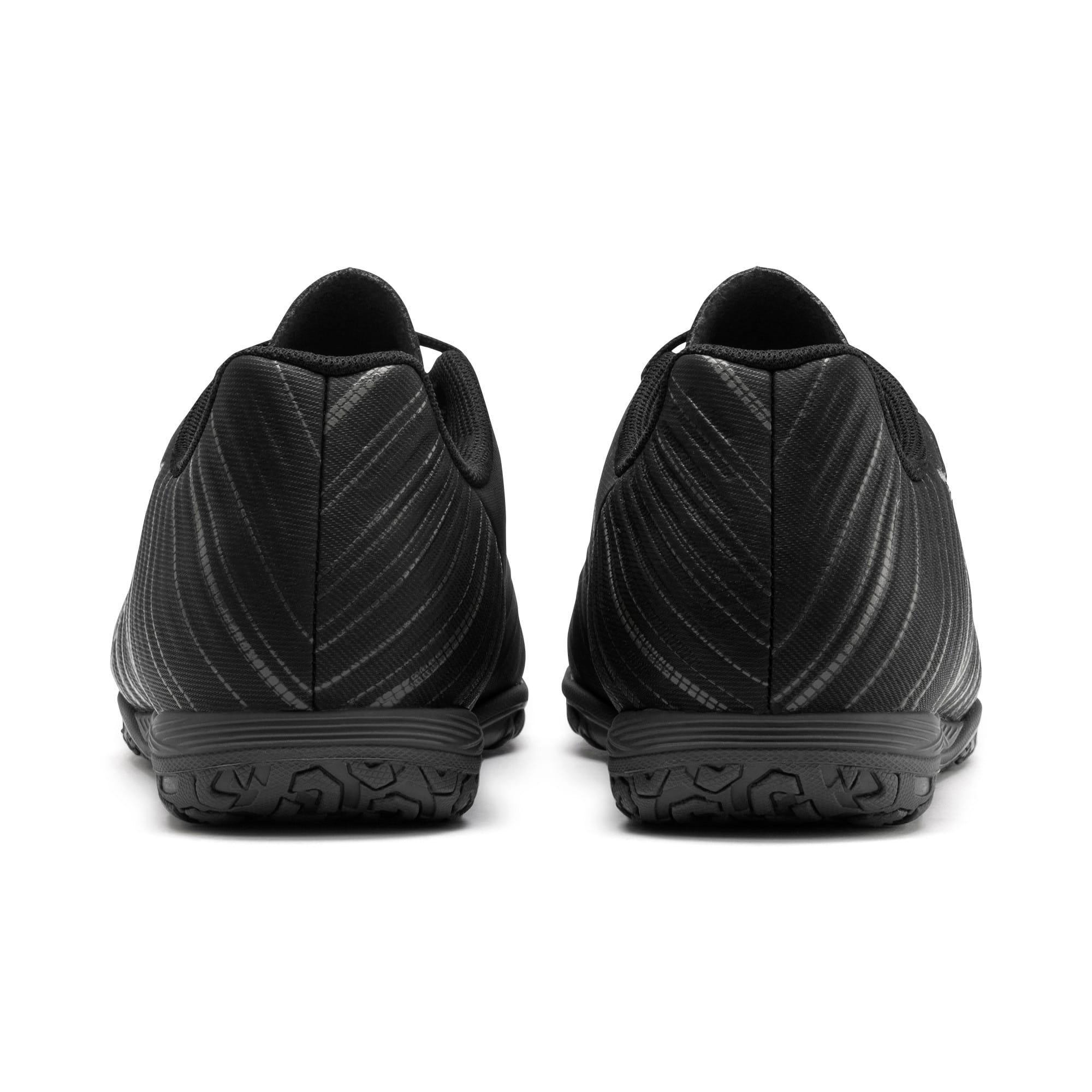 Thumbnail 3 of PUMA ONE 5.4 IT Soccer Shoes JR, Black-Black-Puma Aged Silver, medium