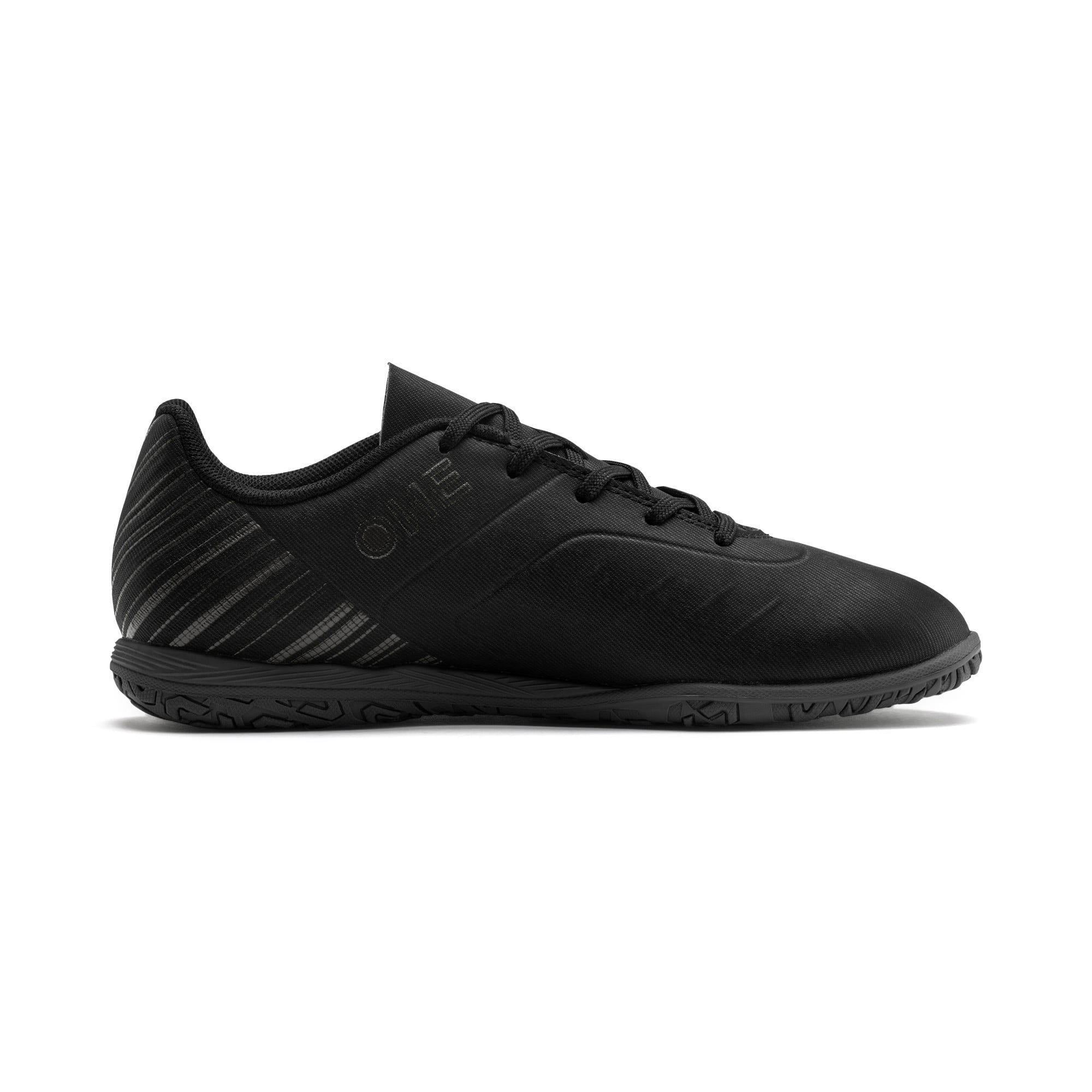 Thumbnail 5 of PUMA ONE 5.4 IT Youth Fußballschuhe, Black-Black-Puma Aged Silver, medium