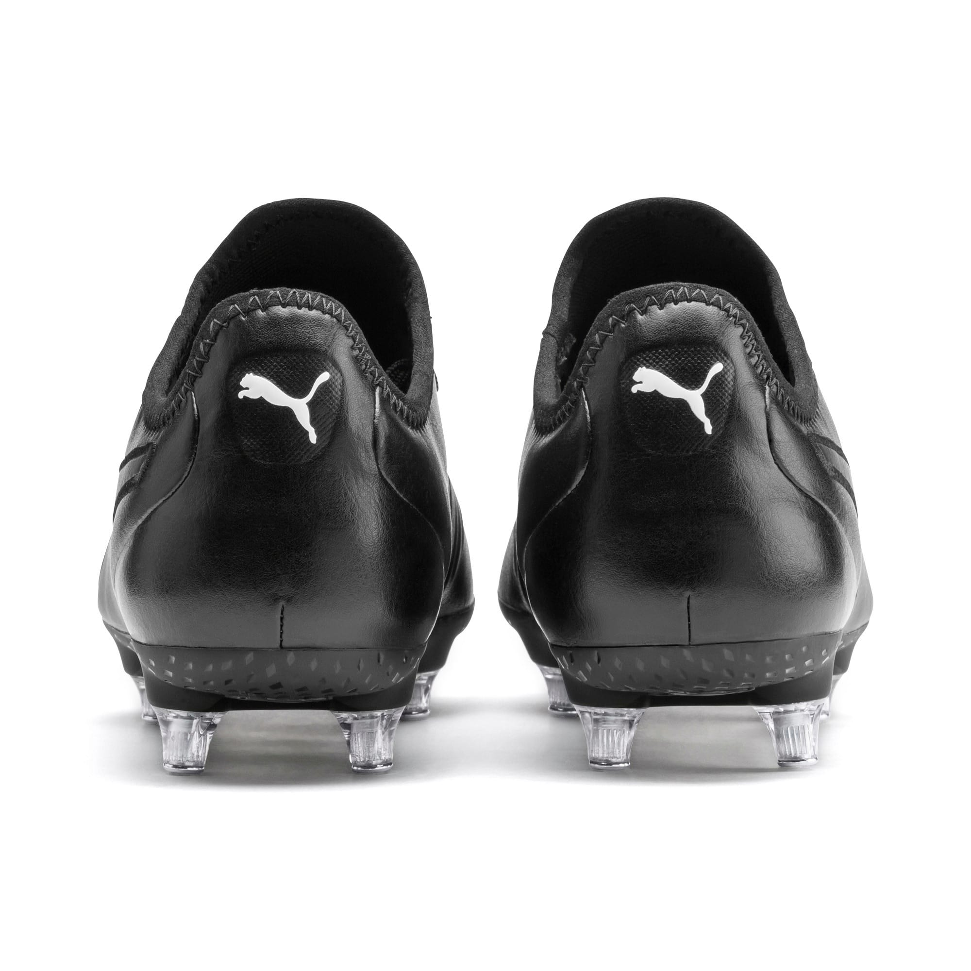Thumbnail 4 of KING SG Men's Football Boots, Puma Black-Puma White, medium