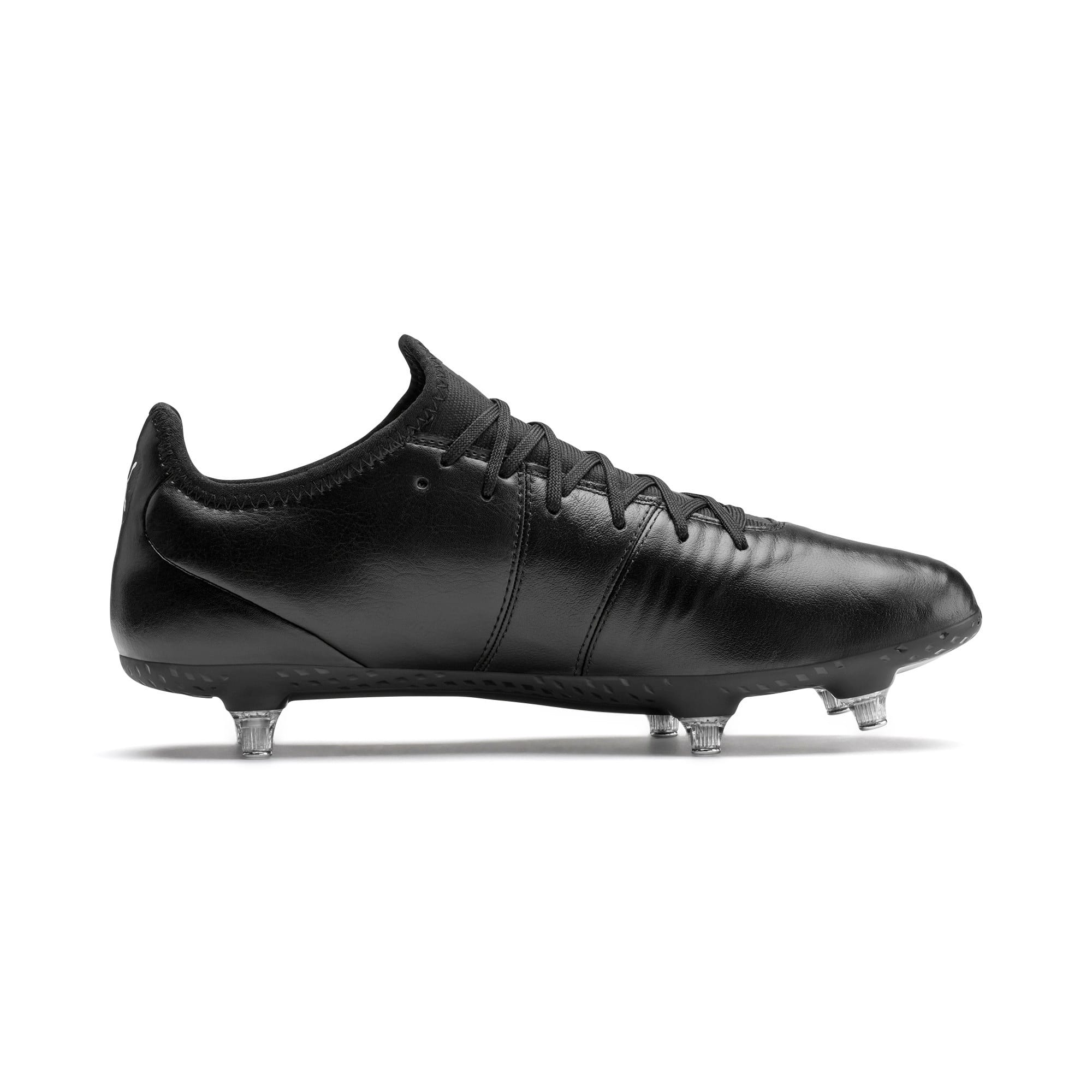 Thumbnail 6 of KING SG Men's Football Boots, Puma Black-Puma White, medium