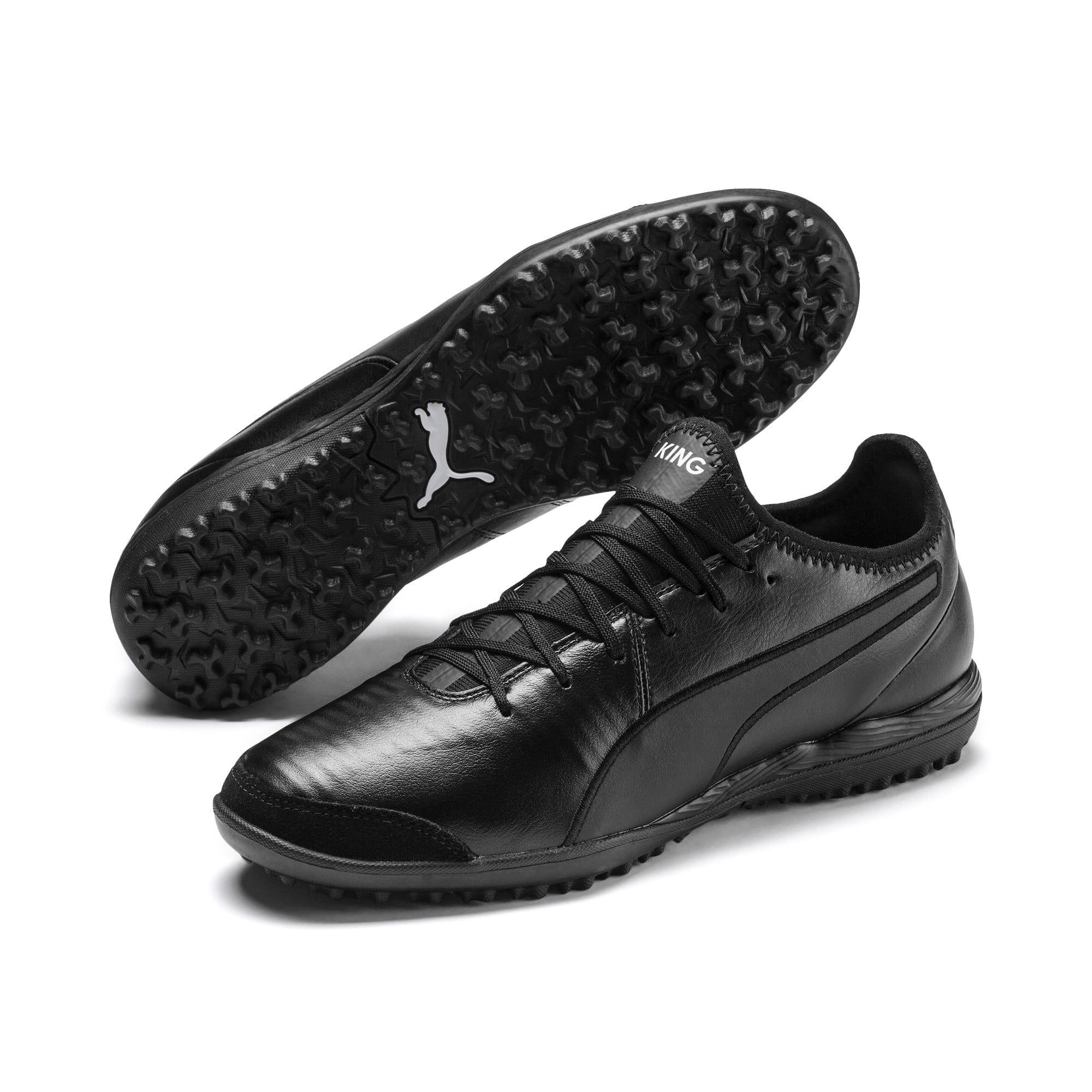 Thumbnail 2 of King Pro TT Soccer Shoes, Puma Black-Puma White, medium