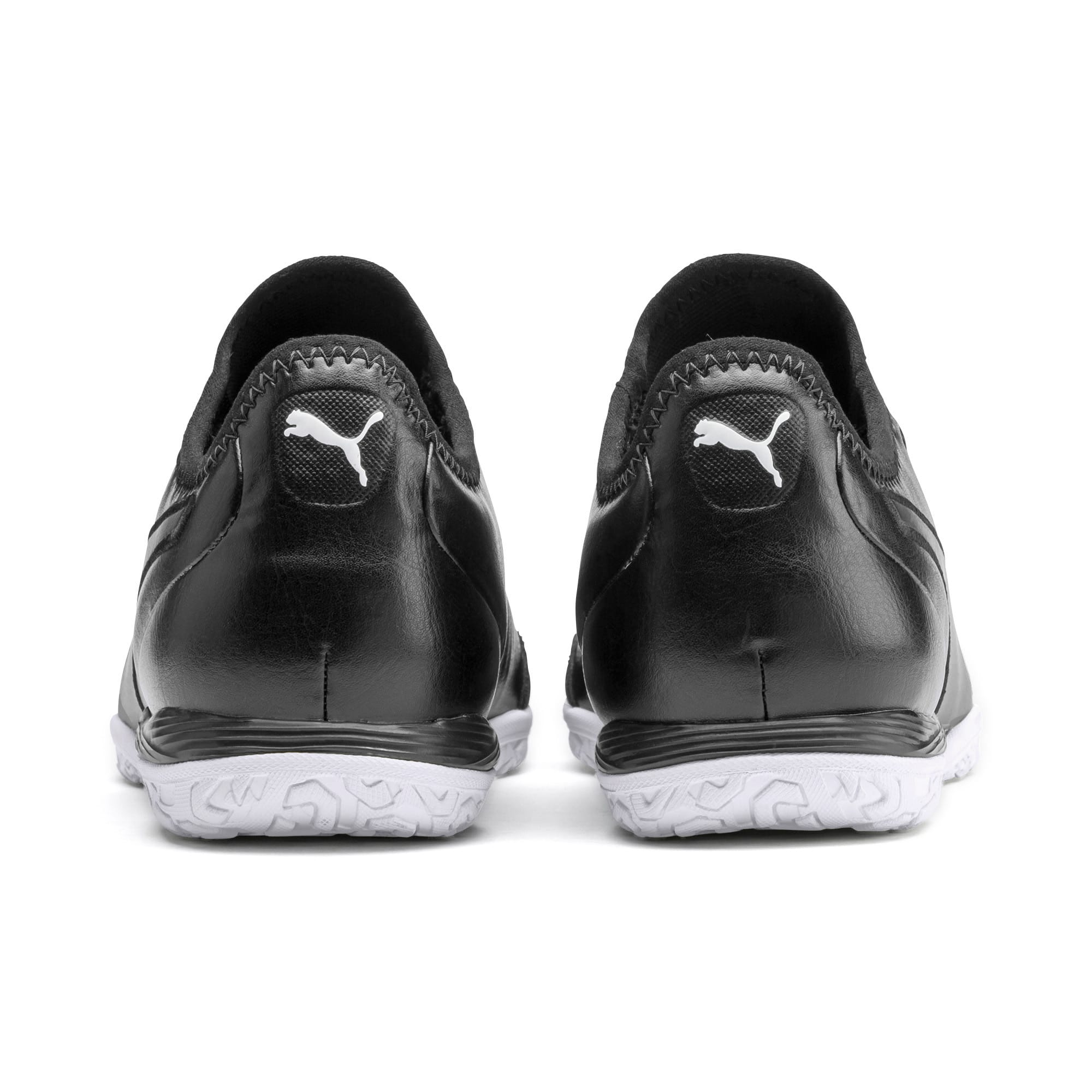 Thumbnail 4 of King Pro IT Soccer Shoes, Puma Black-Puma White, medium