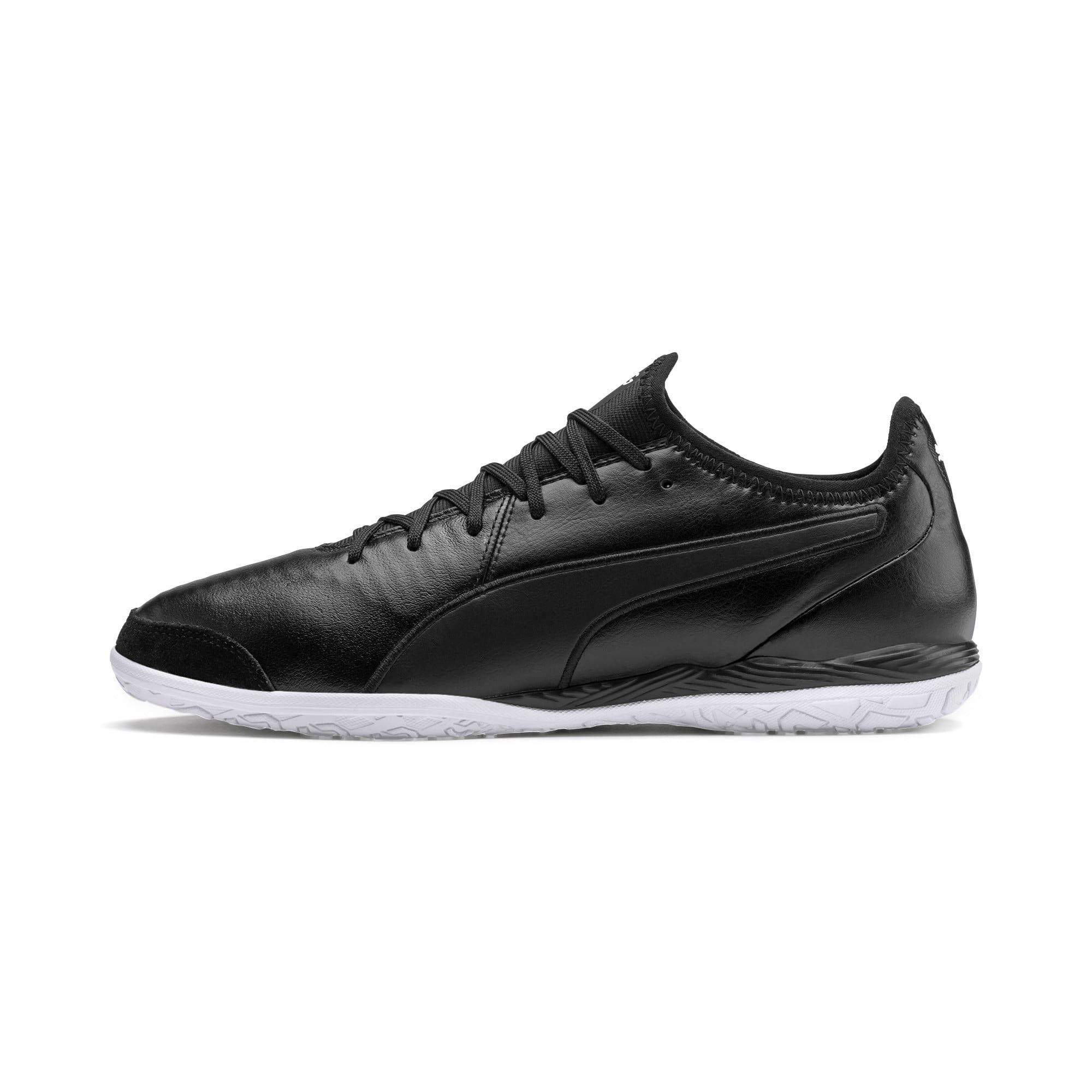 Thumbnail 1 of King Pro IT Soccer Shoes, Puma Black-Puma White, medium