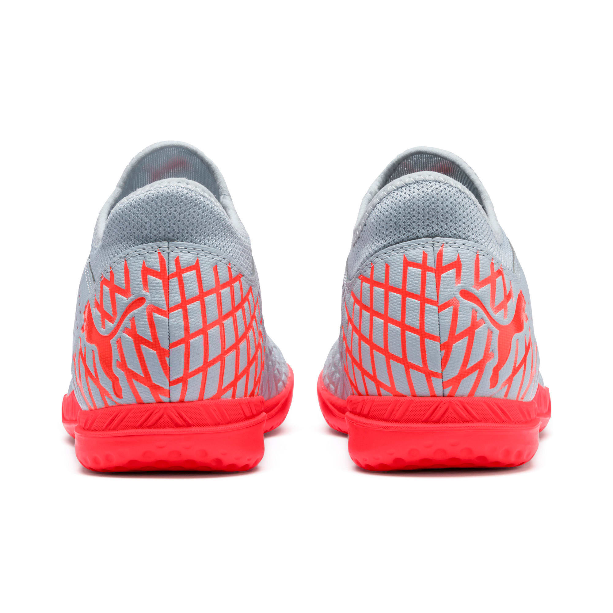 Thumbnail 4 of FUTURE 4.4 IT Men's Soccer Shoes, Glacial Blue-Nrgy Red, medium
