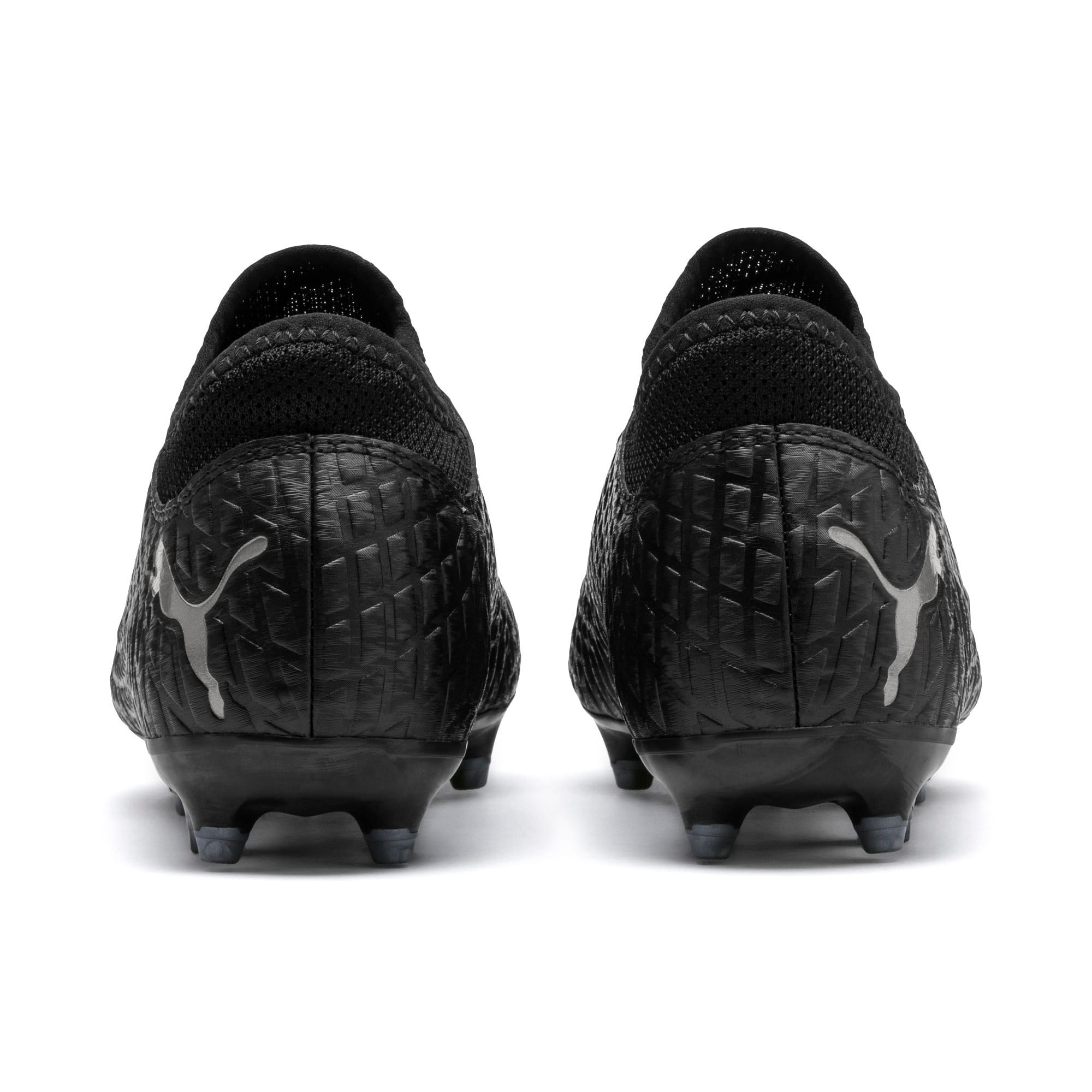 Thumbnail 3 of FUTURE 4.4 FG/AG Youth Fußballschuhe, Black-Black-Puma Aged Silver, medium