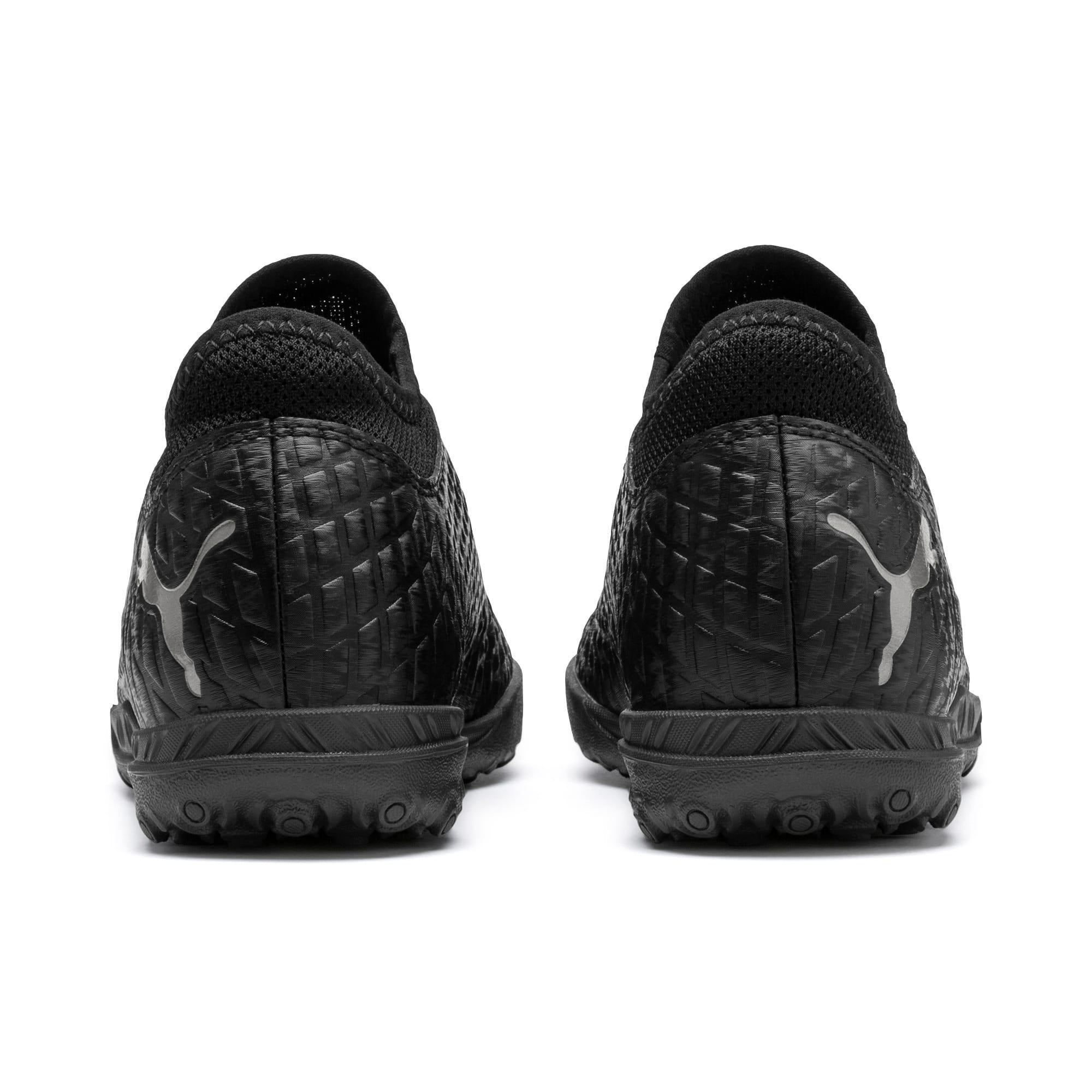 Thumbnail 3 van FUTURE 4.4 TT voetbalschoenen voor jongeren, Zwart-zwart-Puma Aged Silver, medium