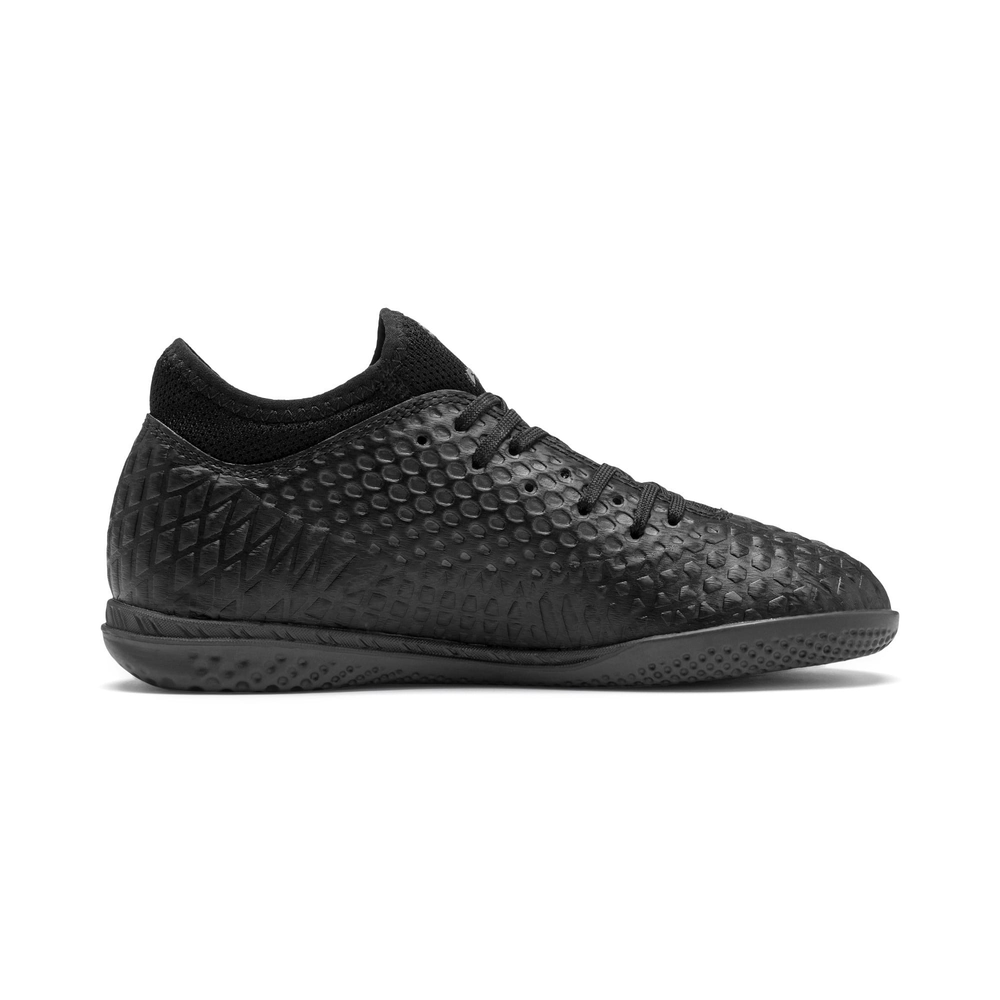 Thumbnail 5 of FUTURE 4.4 IT Youth Football Boots, Black-Black-Puma Aged Silver, medium