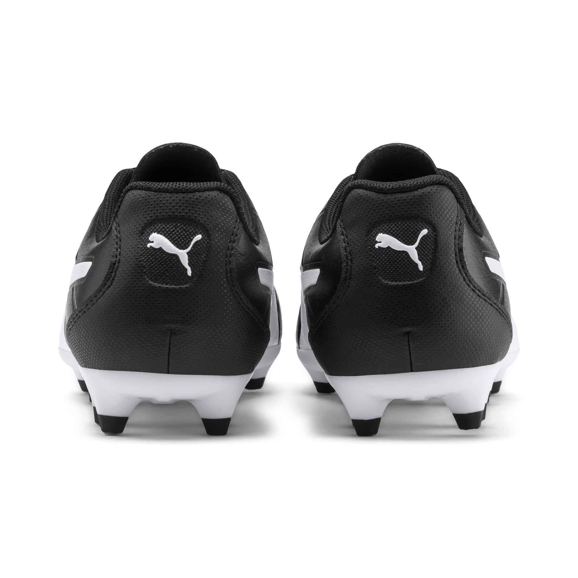 Thumbnail 3 of Monarch FG Youth Football Boots, Puma Black-Puma White, medium