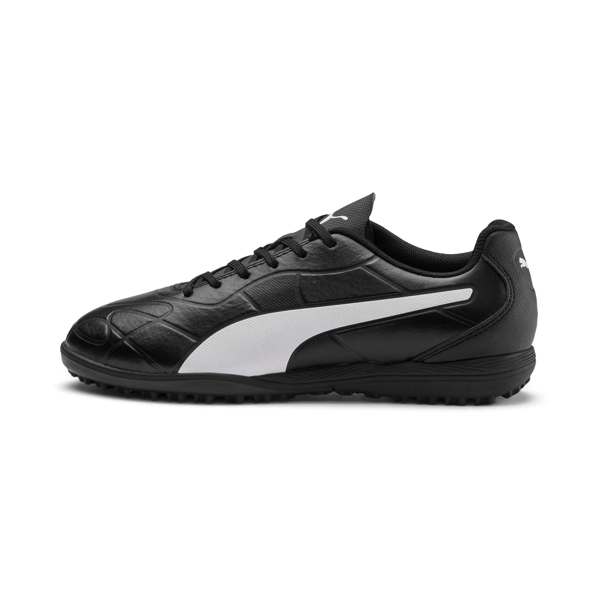 Thumbnail 1 of Monarch TT Youth Football Boots, Puma Black-Puma White, medium