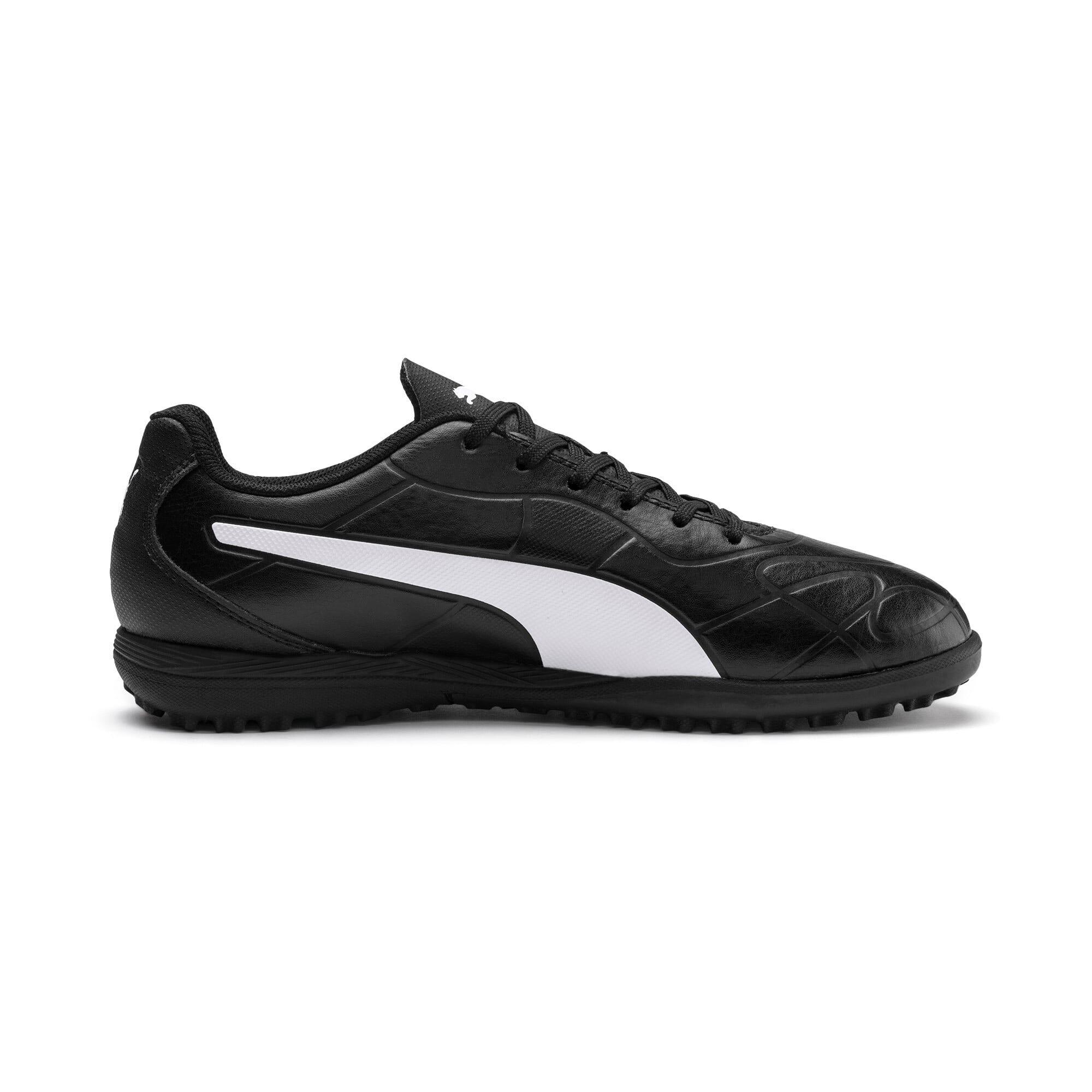 Thumbnail 5 of Monarch TT Youth Football Boots, Puma Black-Puma White, medium