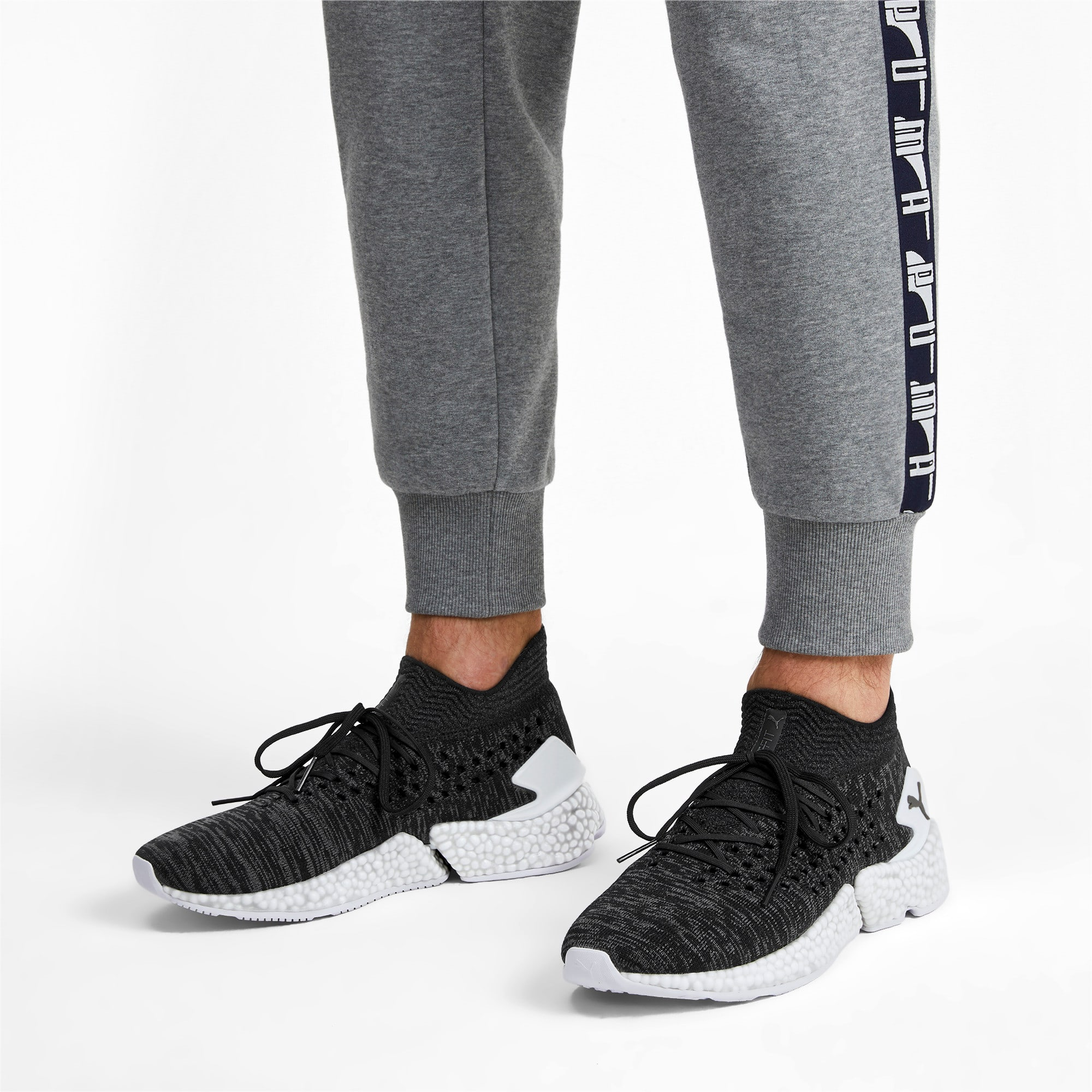 Thumbnail 3 of FUTURE Orbiter Men's Soccer Shoes, Black-Black-Puma Aged Silver, medium