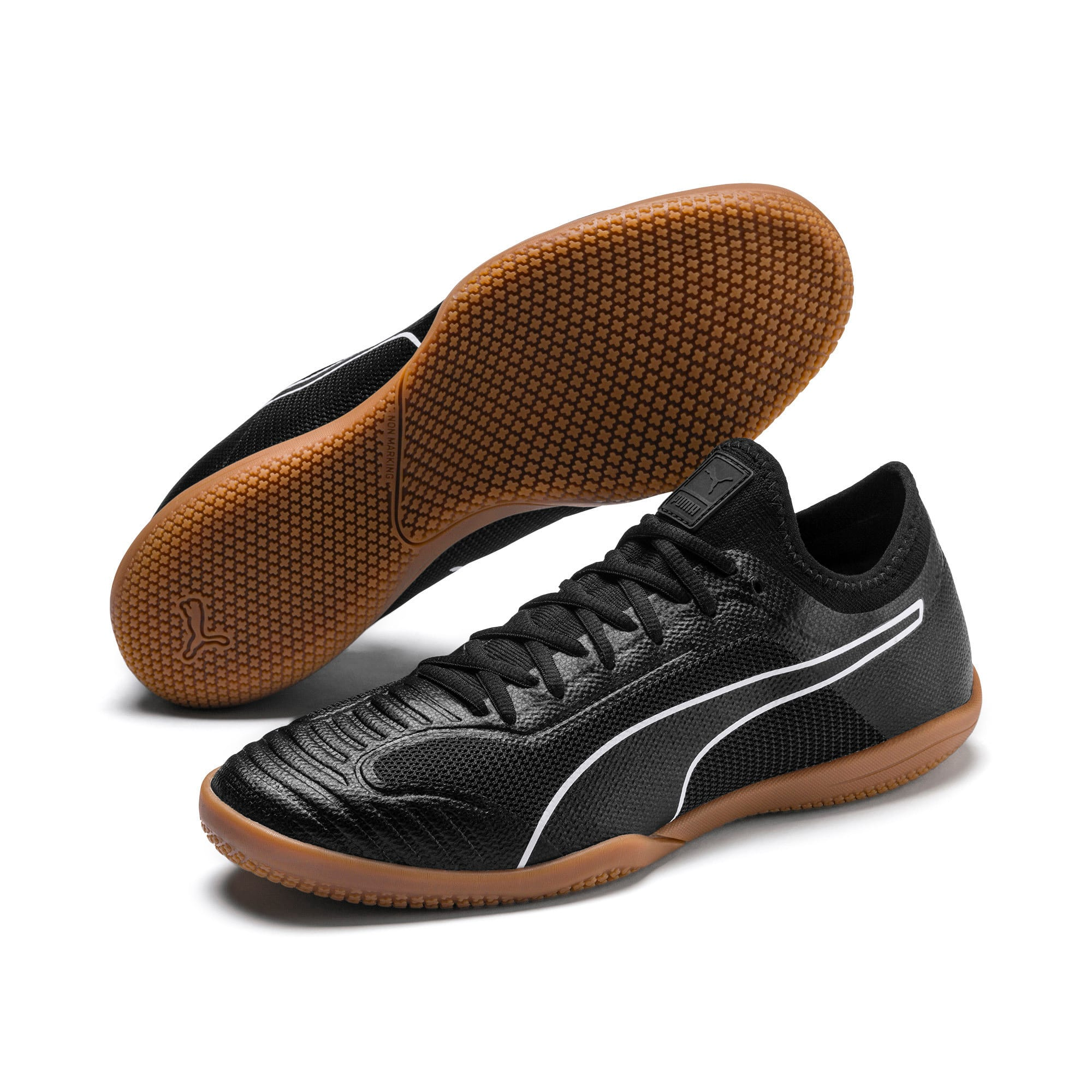 Thumbnail 3 of 365 Sala 1 Men's Football Boots, Puma Black-Puma White-Gum, medium