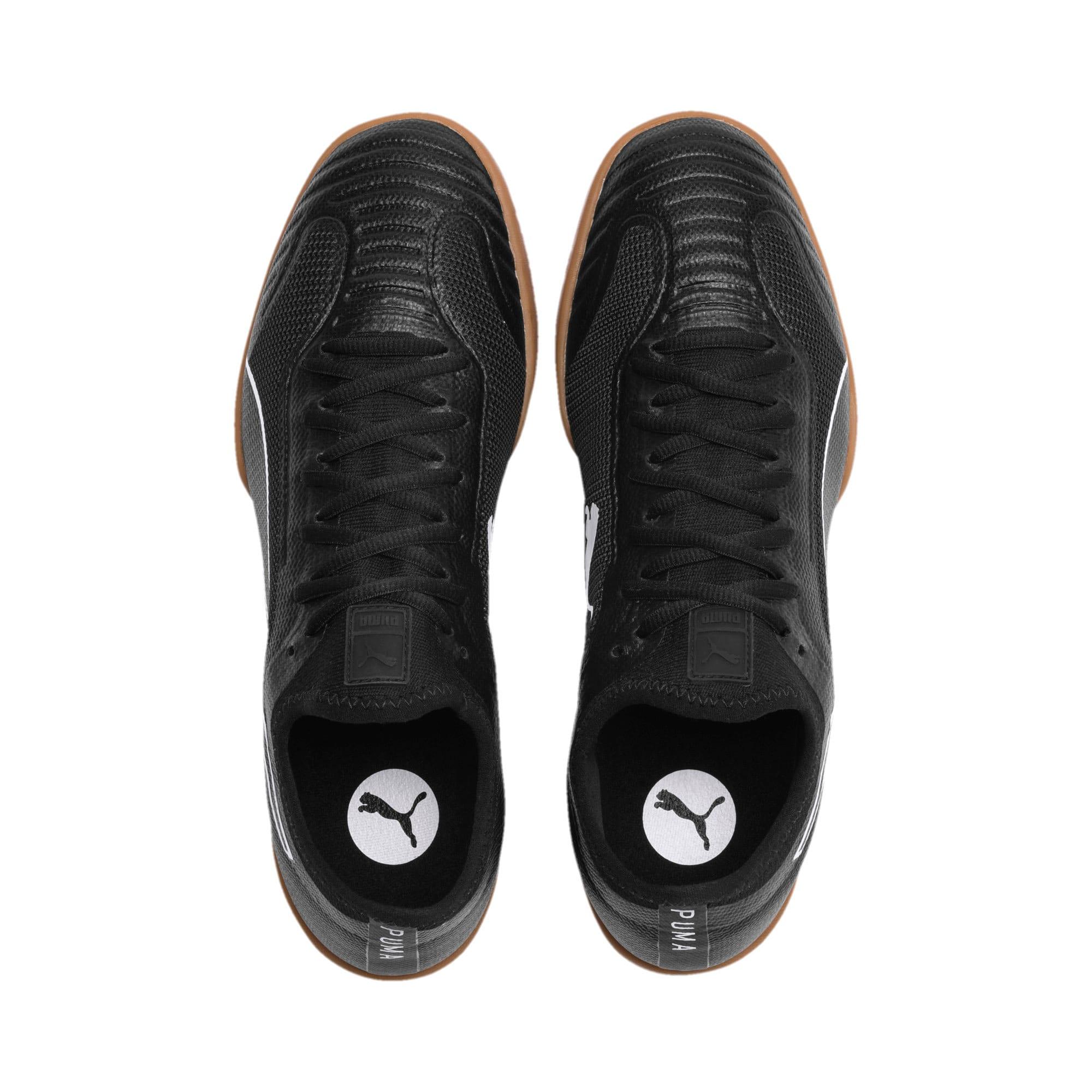 Thumbnail 7 of 365 Sala 1 Men's Football Boots, Puma Black-Puma White-Gum, medium