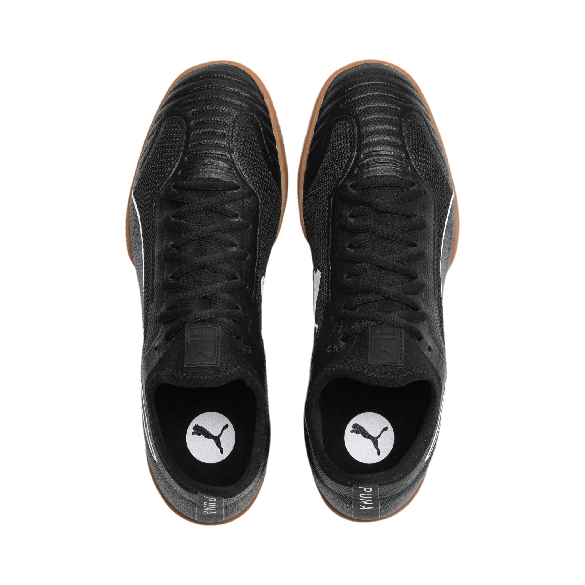 Thumbnail 7 of 365 Sala 1 Men's Soccer Shoes, Puma Black-Puma White-Gum, medium