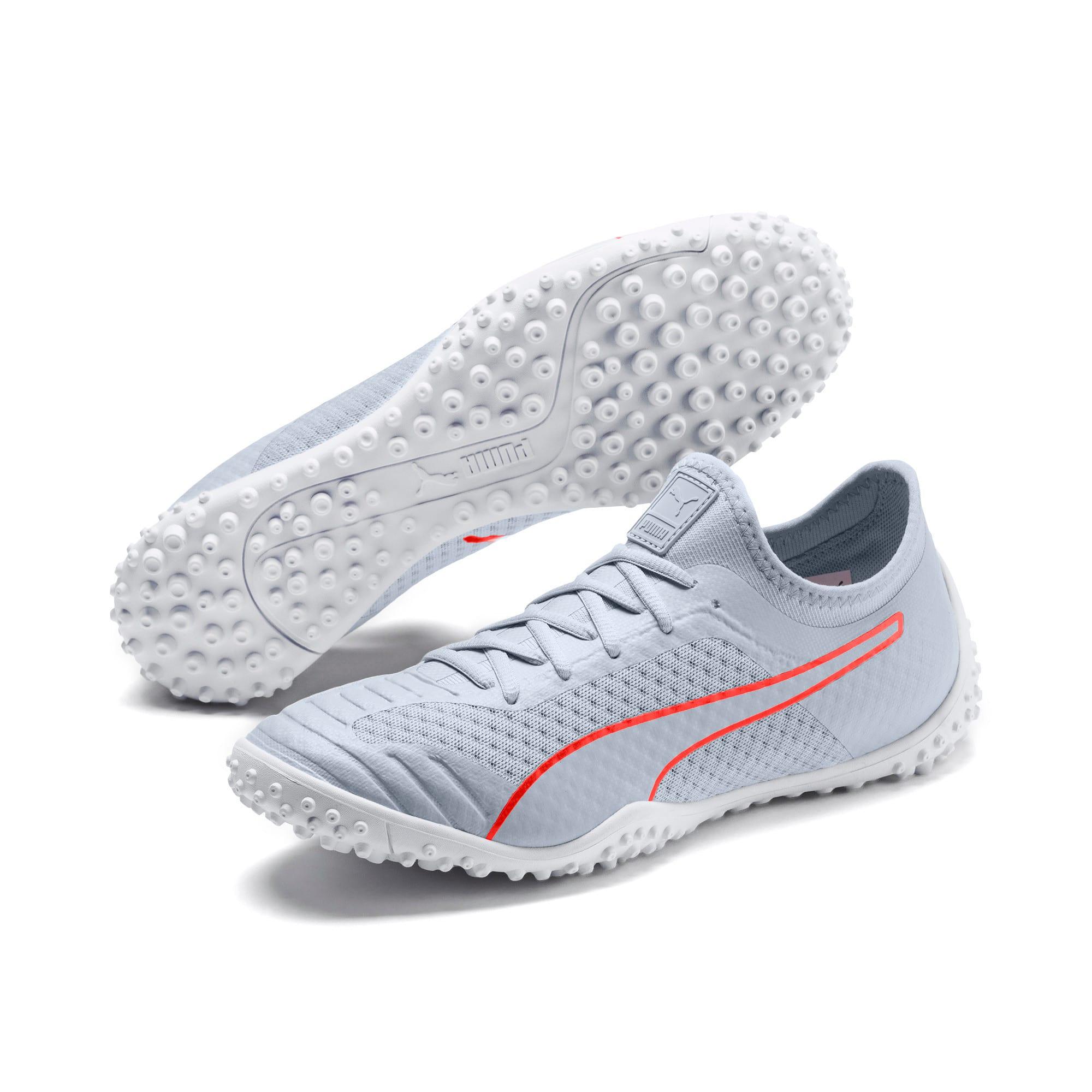 Thumbnail 2 of 365 Concrete 2 ST Men's Soccer Shoes, Grey Dawn-Nrgy Red-White, medium