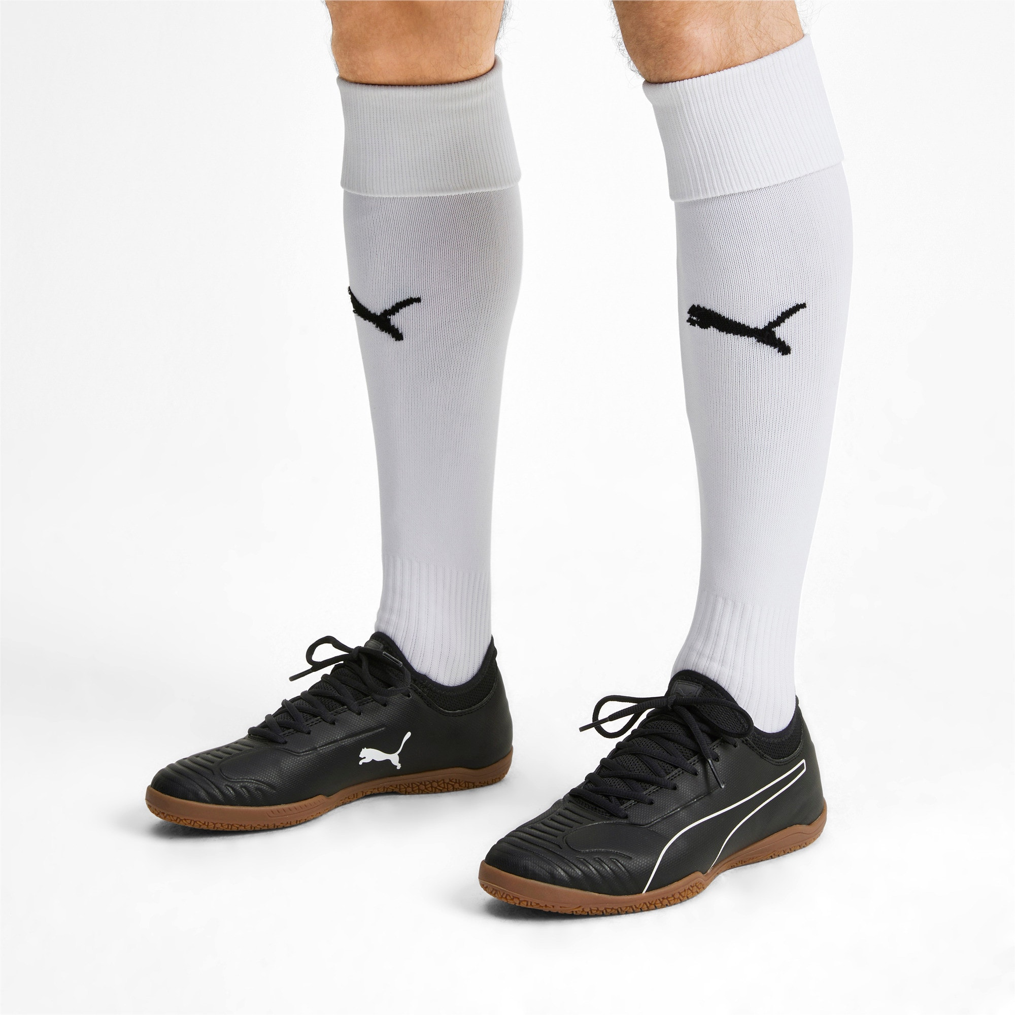 Thumbnail 2 of 365 Sala 2 Men's Football Boots, Puma Black-Puma White-Gum, medium
