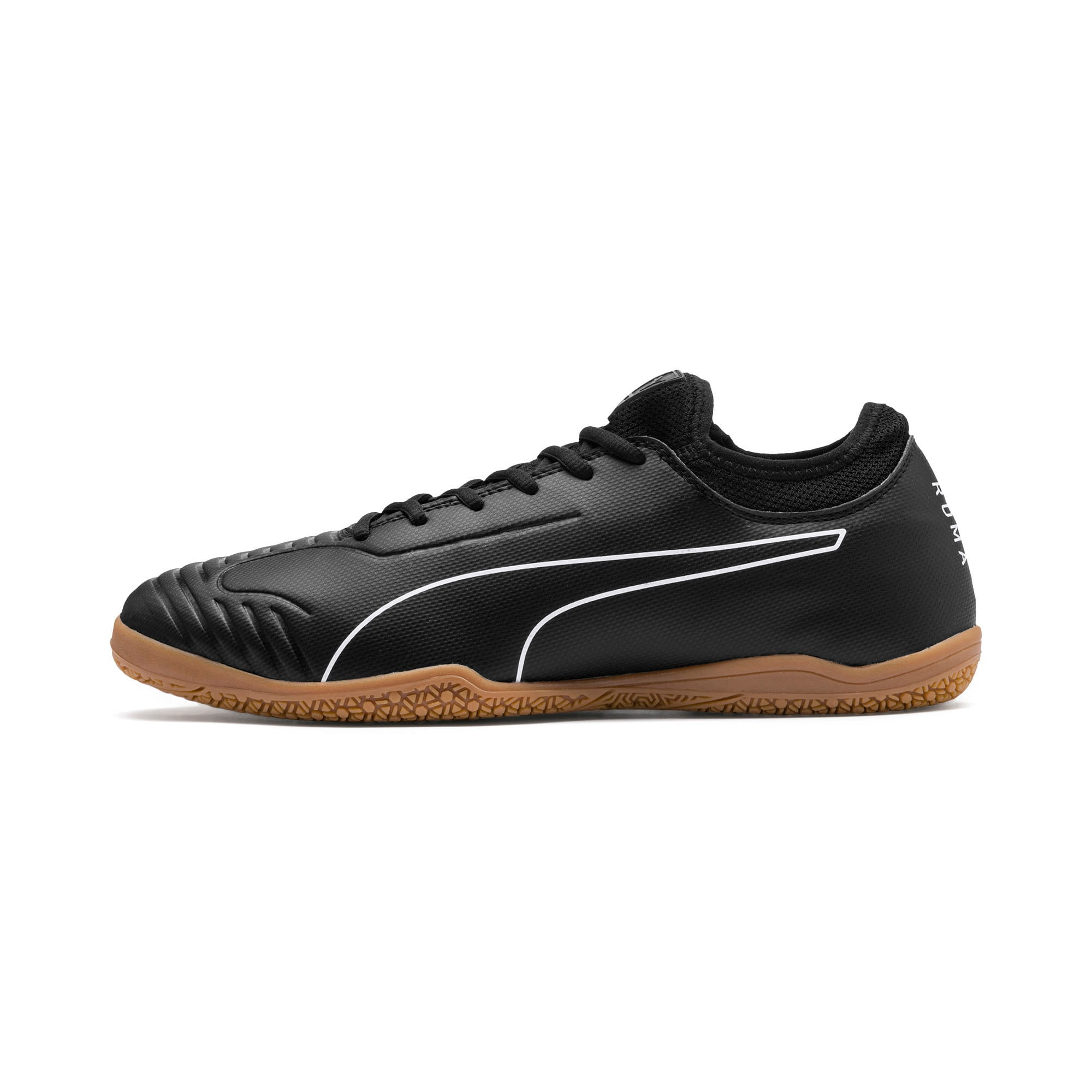 Thumbnail 1 of 365 Sala 2 Men's Soccer Shoes, Puma Black-Puma White-Gum, medium