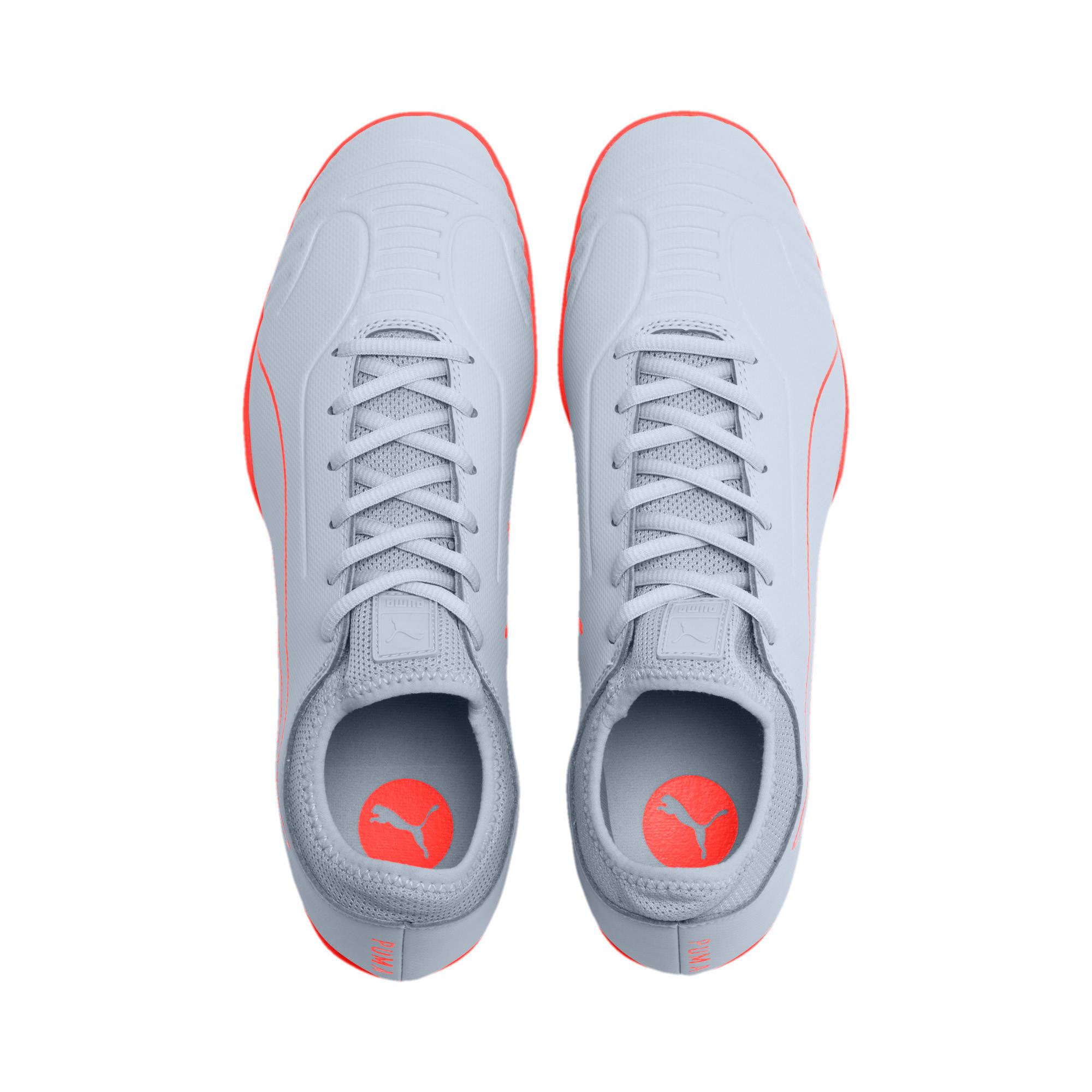 Thumbnail 7 of 365 Sala 2 Men's Soccer Shoes, Grey Dawn-Nrgy Red, medium