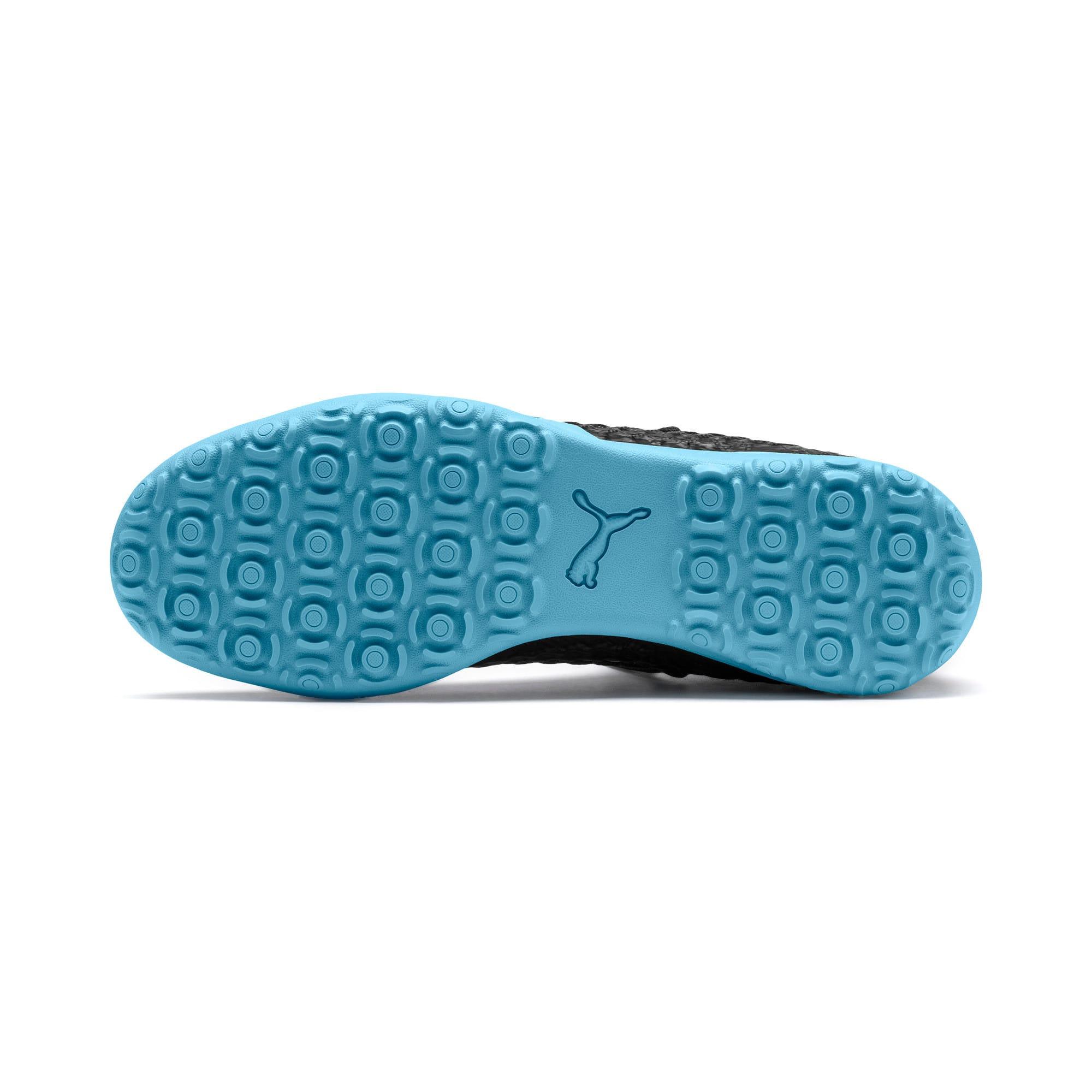Thumbnail 5 of FUTURE 4.3 NETFIT City TT Men's Soccer Shoes, Black-Sky Blue-Puma White, medium