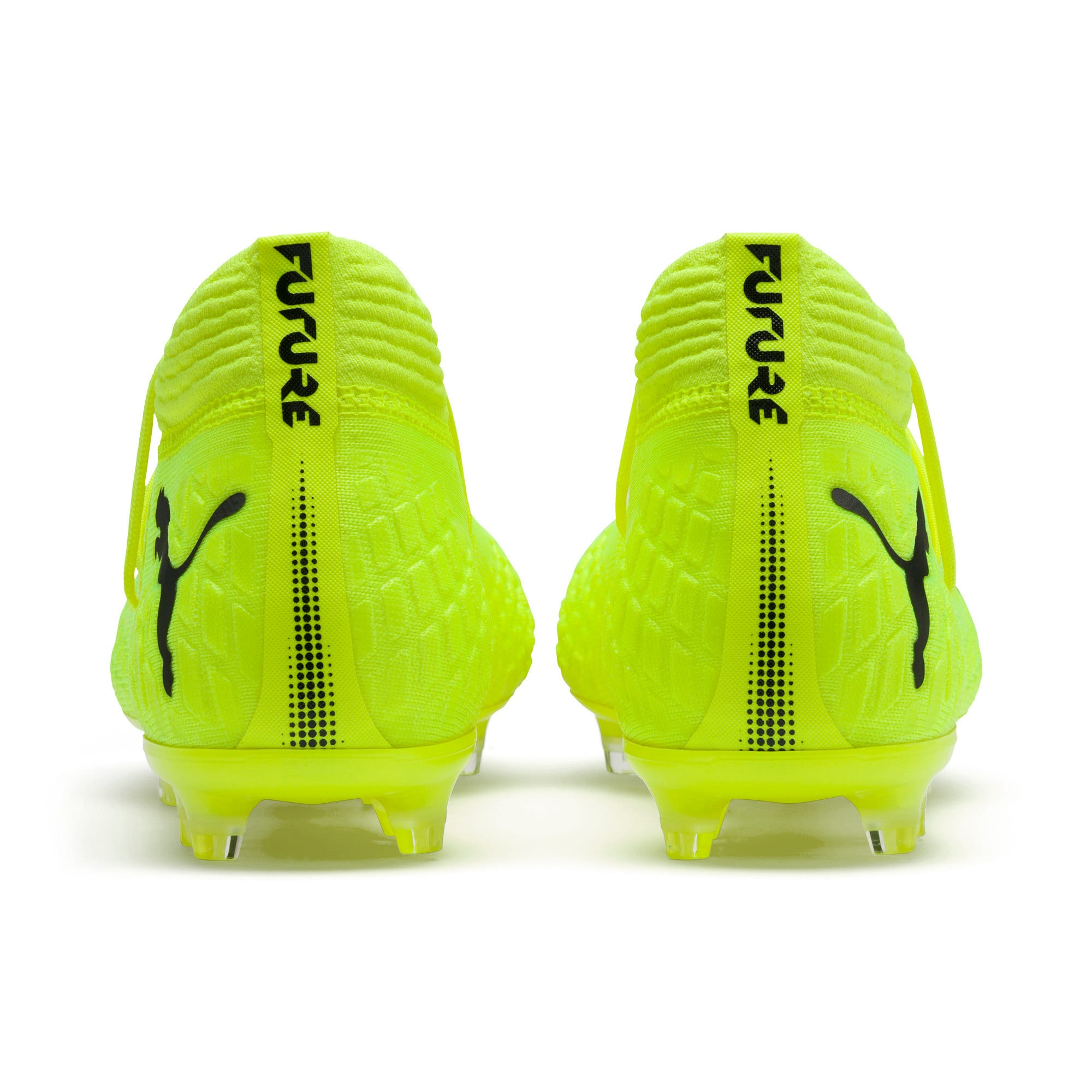 Thumbnail 3 of FUTURE 4.1 NETFIT Griezmann FG/AG Men's Football Boots, Yellow Alert-Puma Black, medium