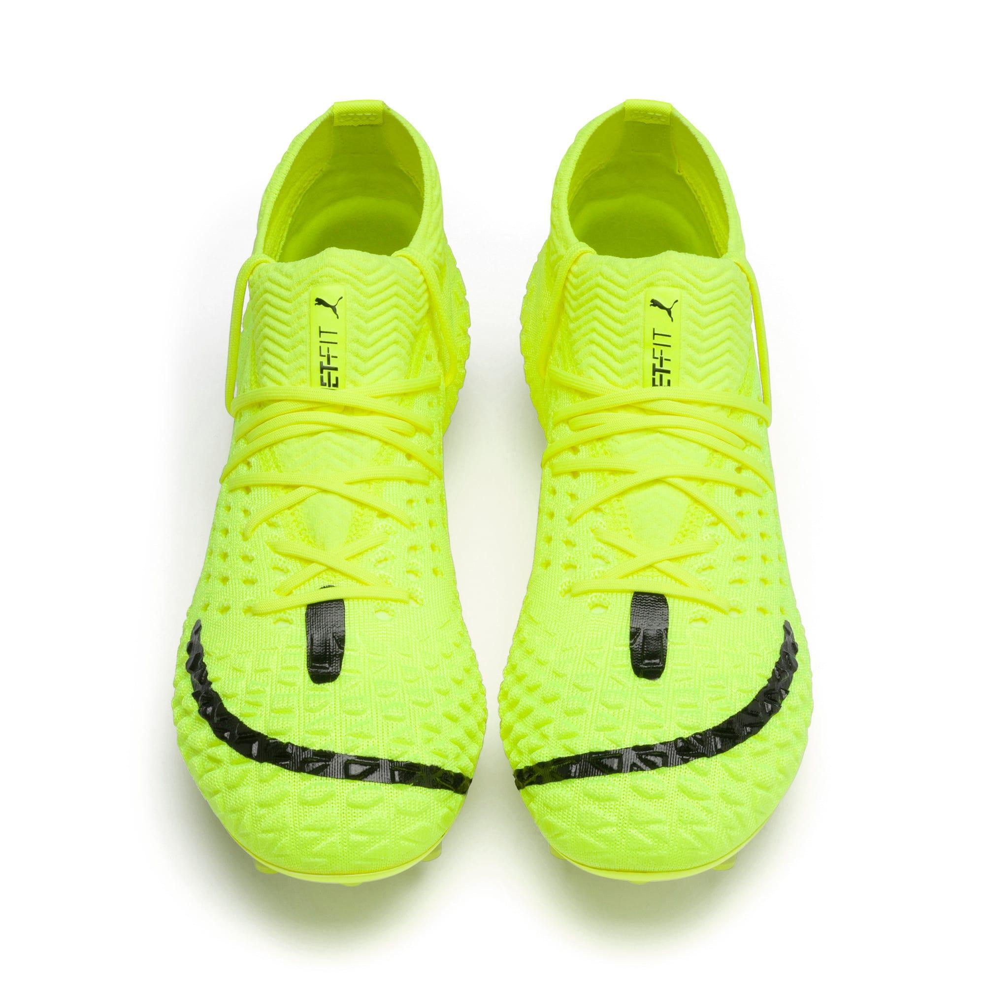 Thumbnail 2 of FUTURE 4.1 NETFIT Griezmann FG/AG Men's Football Boots, Yellow Alert-Puma Black, medium