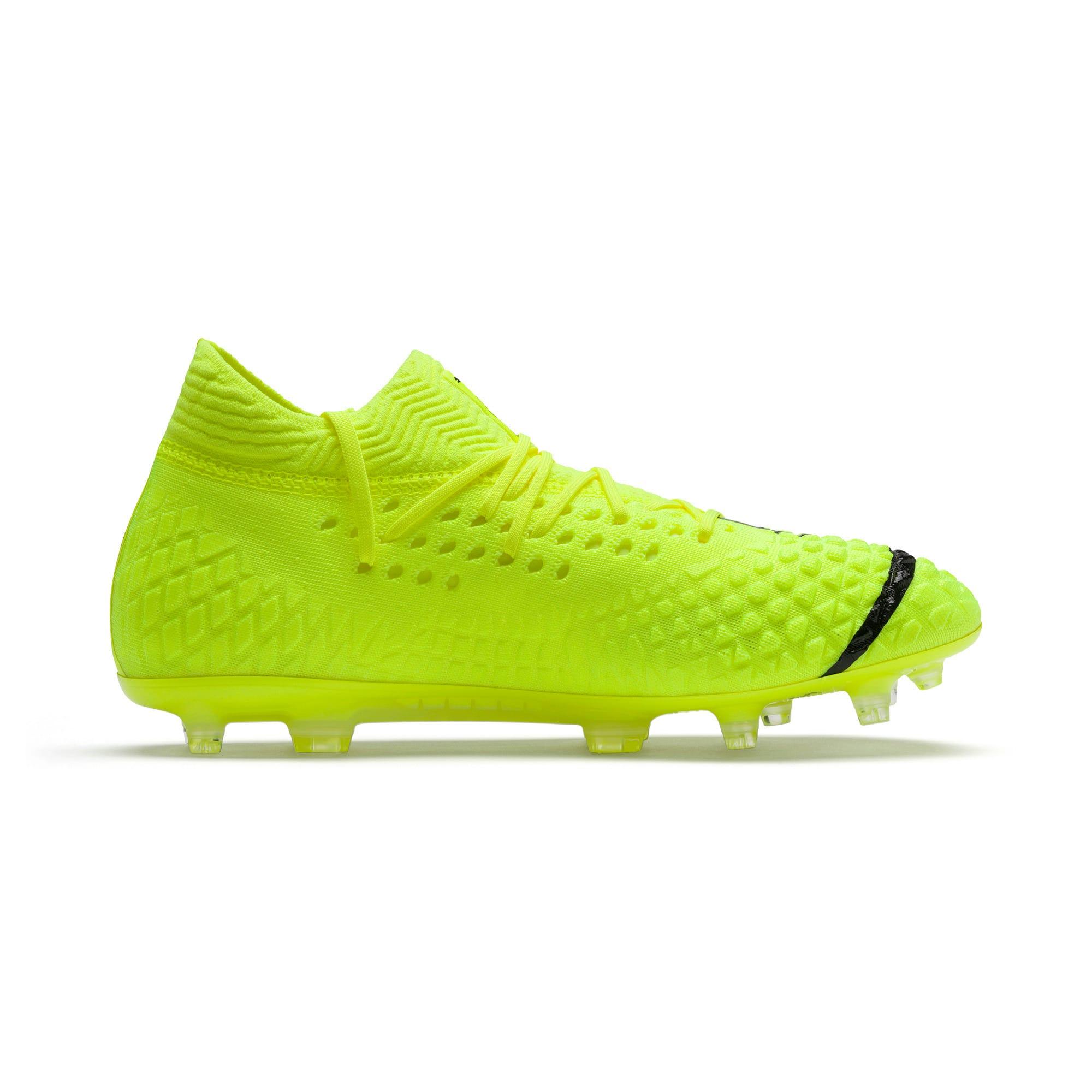 Thumbnail 5 of Chaussure de foot FUTURE 4.1 NETFIT Griezmann FG/AG pour homme, Yellow Alert-Puma Black, medium