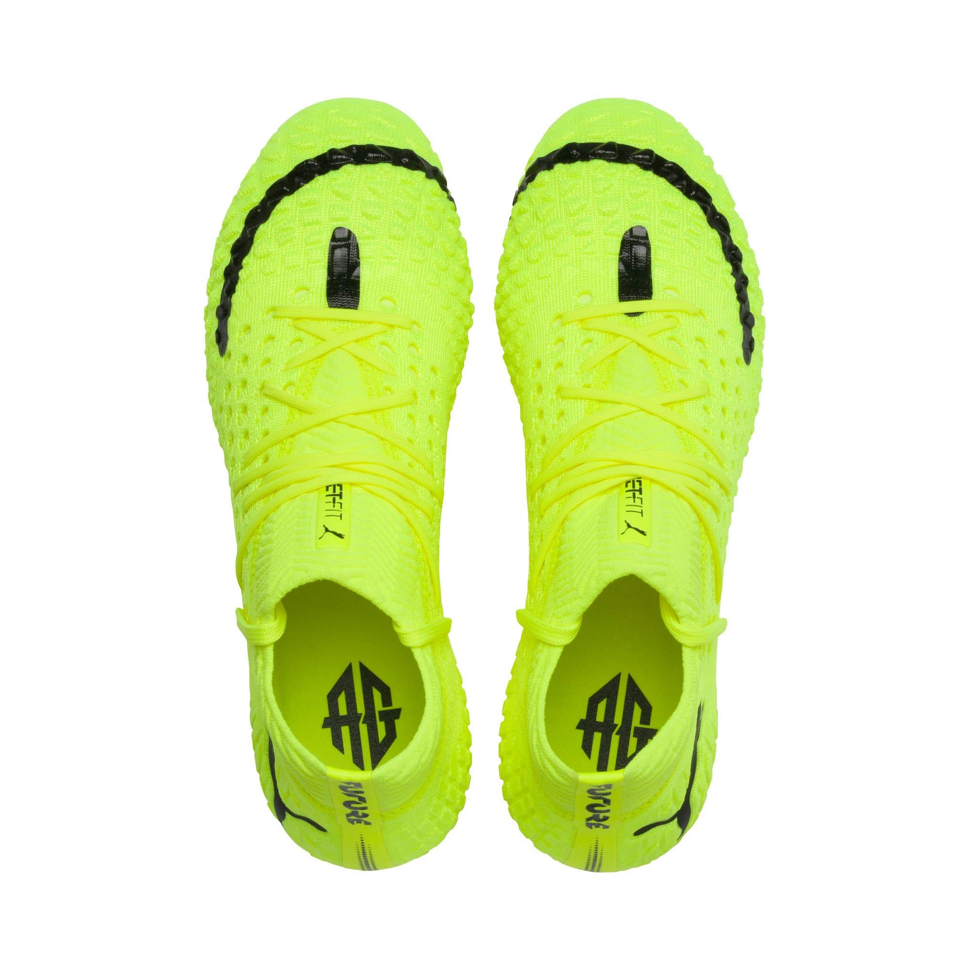 Thumbnail 6 of FUTURE 4.1 NETFIT Griezmann FG/AG Men's Football Boots, Yellow Alert-Puma Black, medium