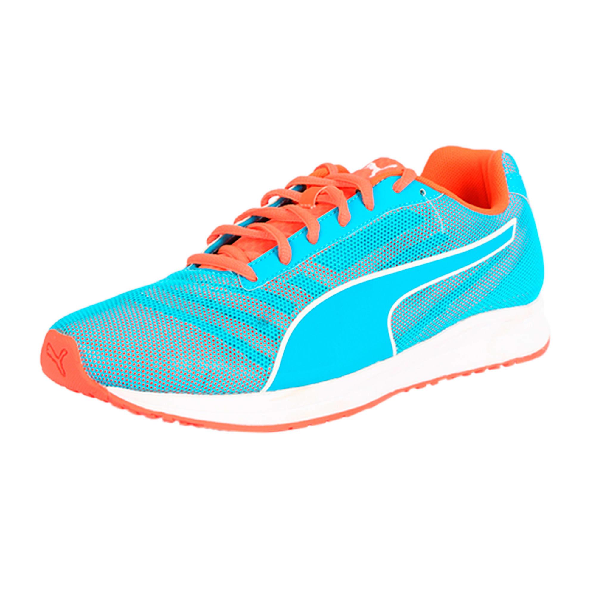 Thumbnail 1 of Burst Running Shoes, atomic blue-red blast, medium-IND