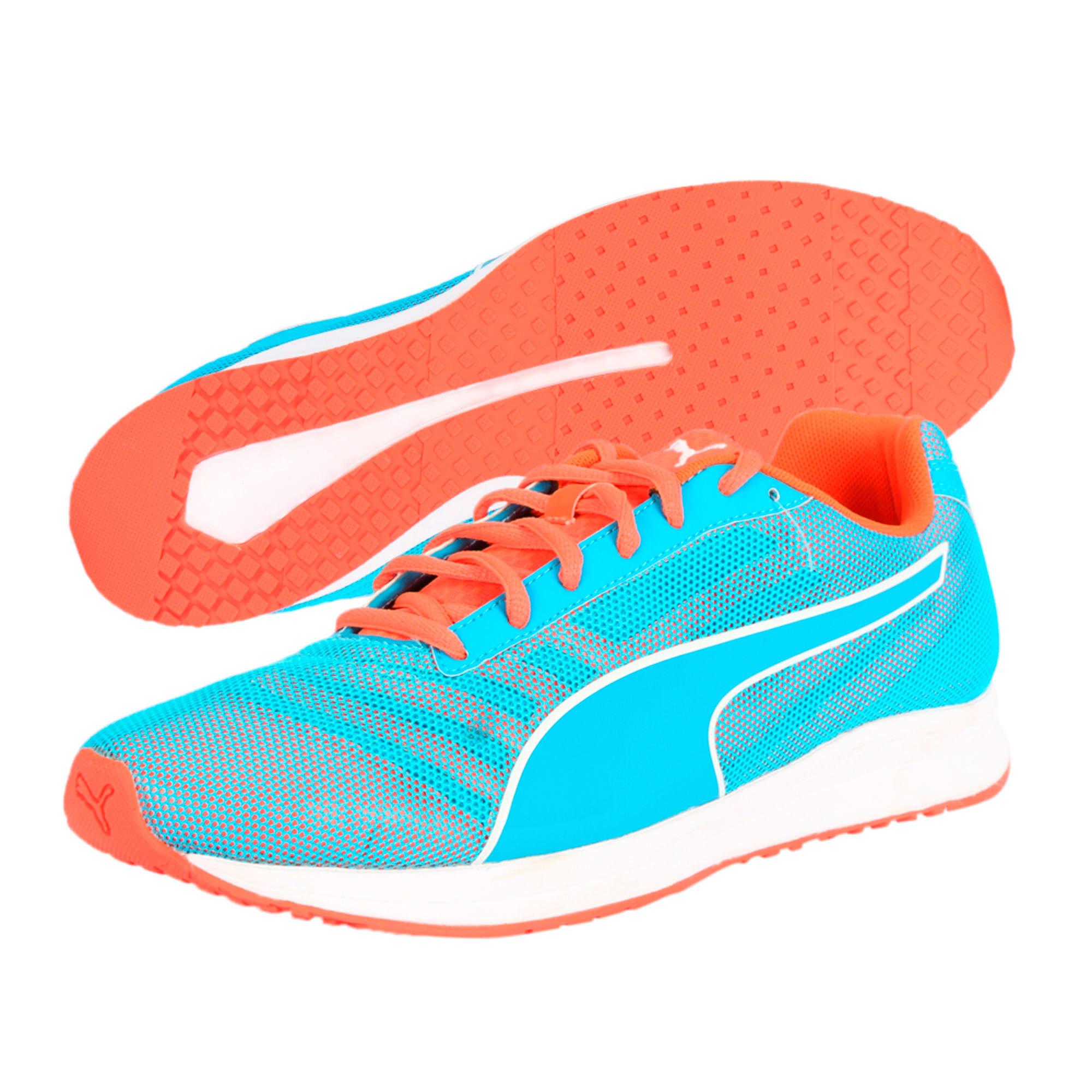 Thumbnail 6 of Burst Running Shoes, atomic blue-red blast, medium-IND