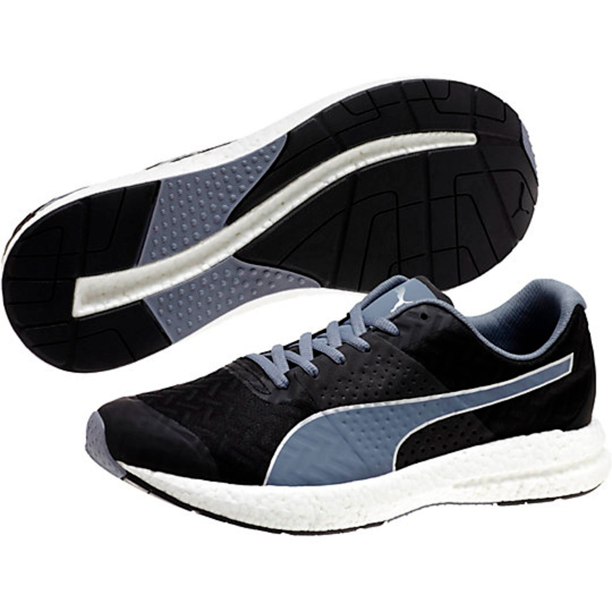 Thumbnail 5 of NRGY Running Shoes, black-folkstone gray, medium-IND