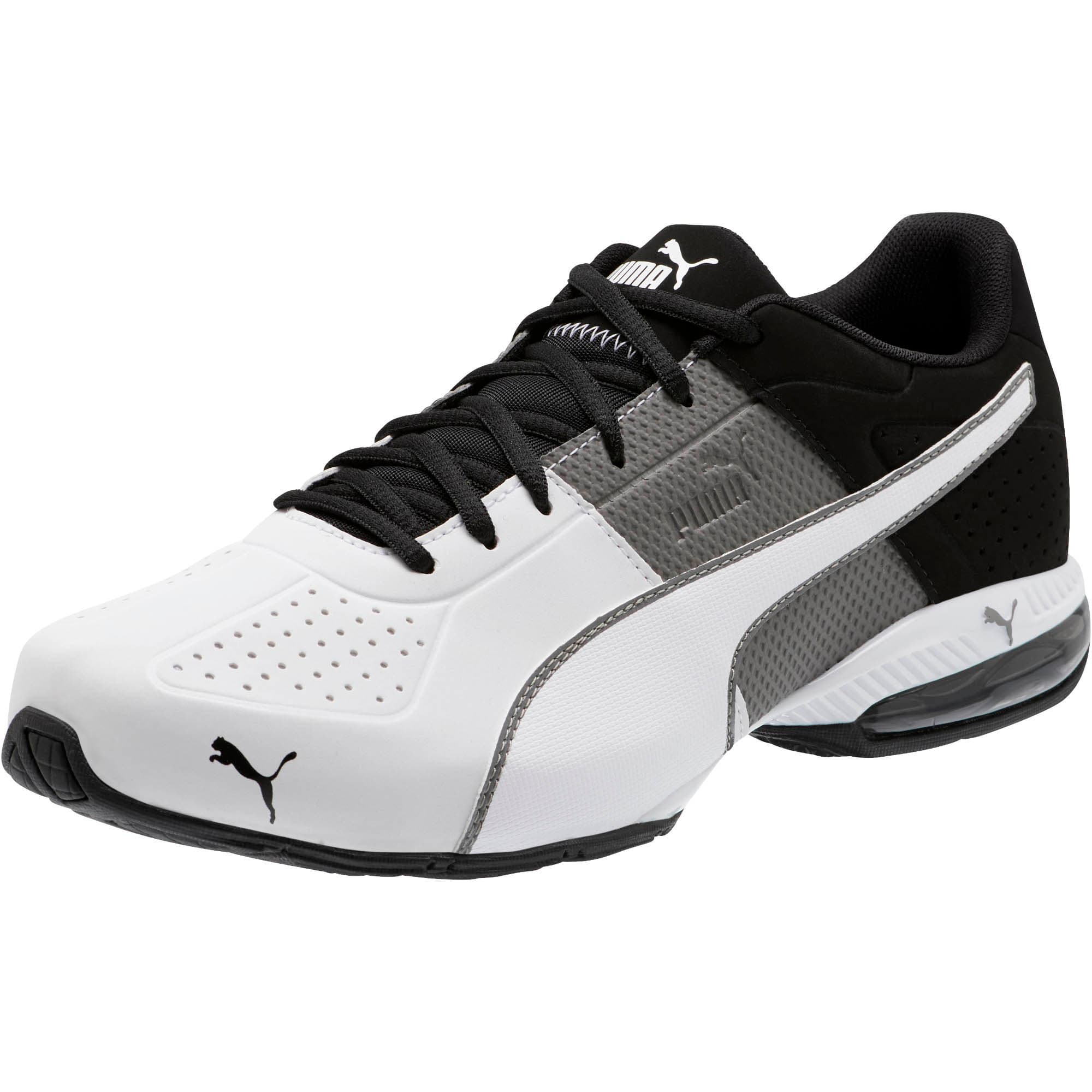 Thumbnail 1 of CELL Surin 2 Matte Men's Training Shoes, Charcoal Gray-Puma White, medium